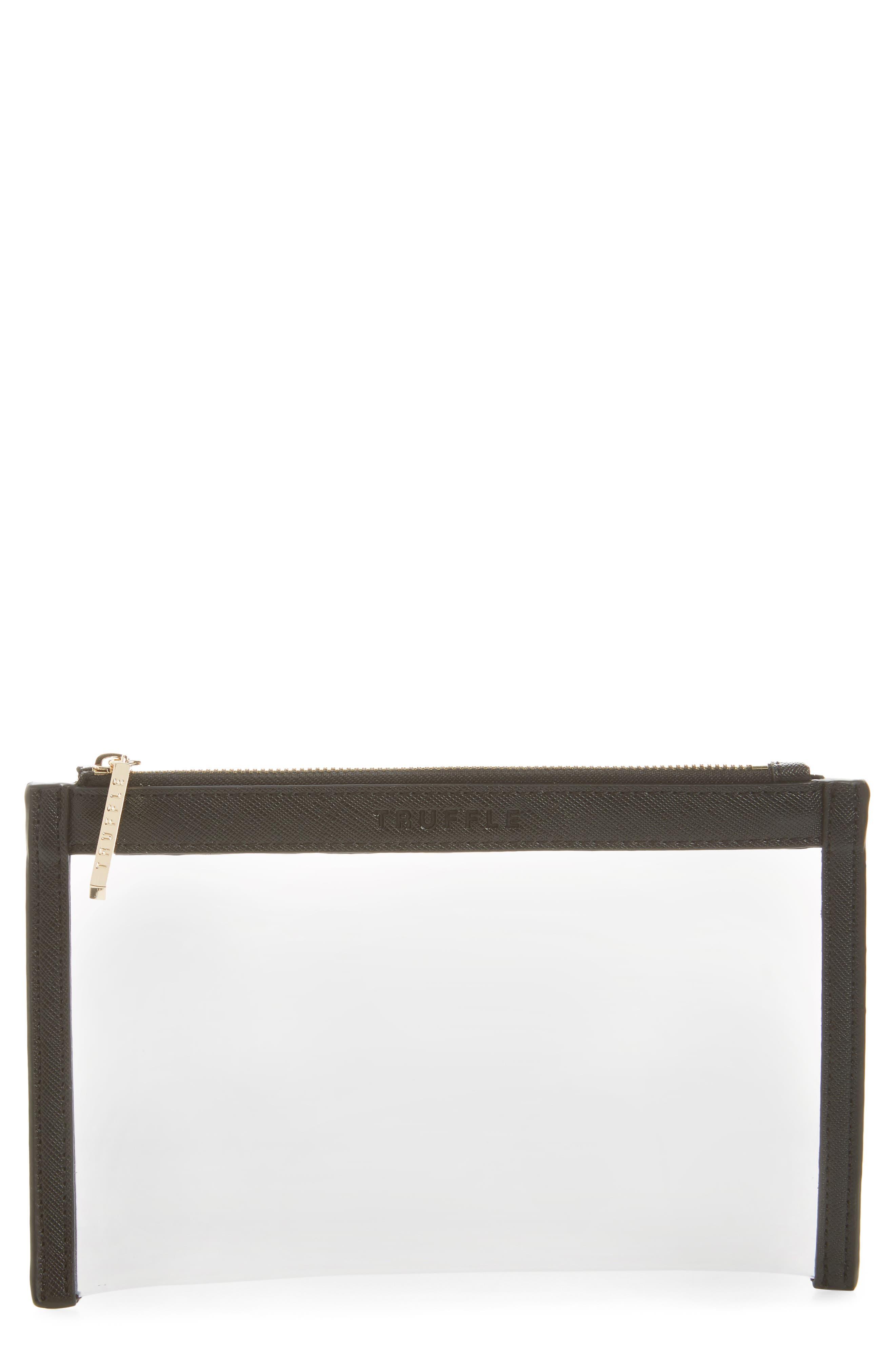Mini Clarity Clutch,                         Main,                         color, 001