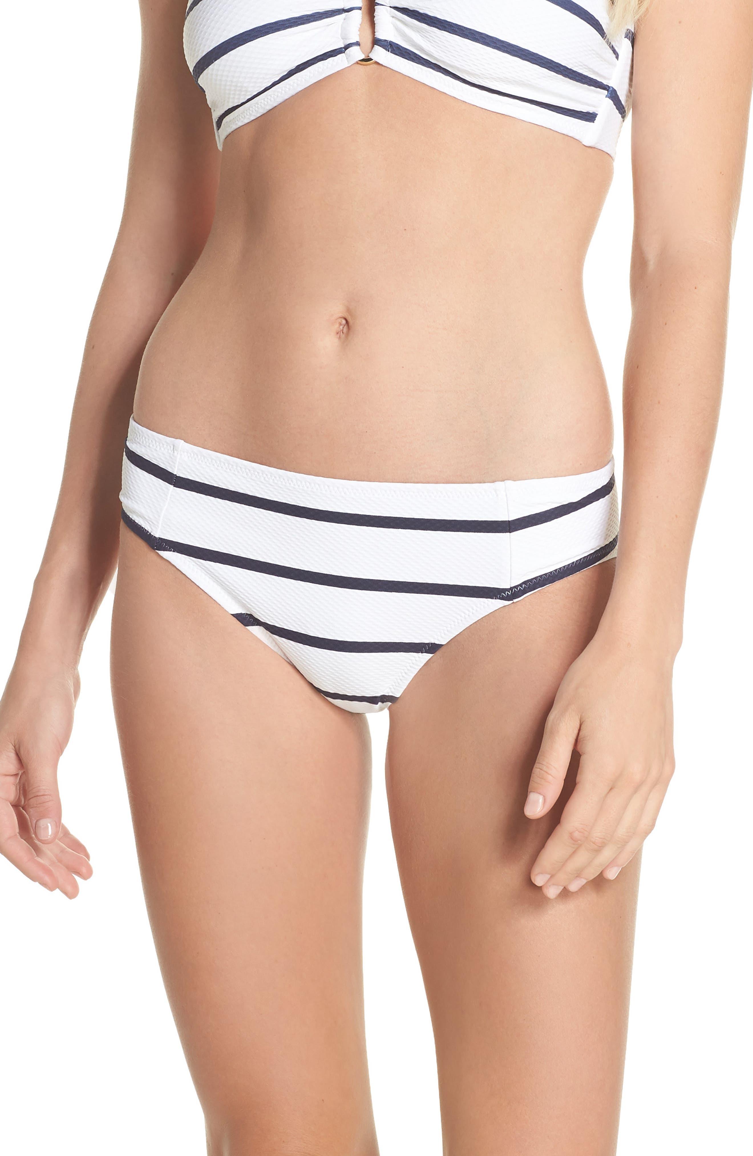 Core Hipster Bikini Bottoms,                             Main thumbnail 1, color,                             NAUTICAL