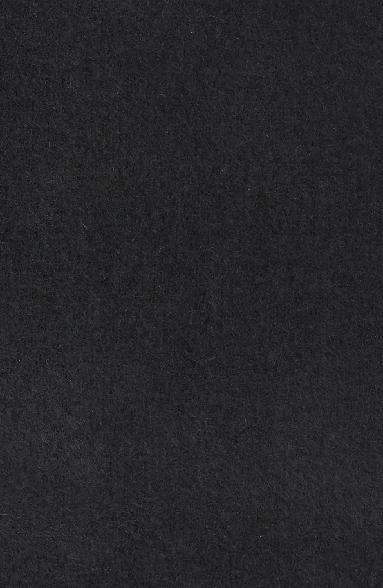 Cashmere Blend Cowl Scarf,                             Alternate thumbnail 4, color,                             001