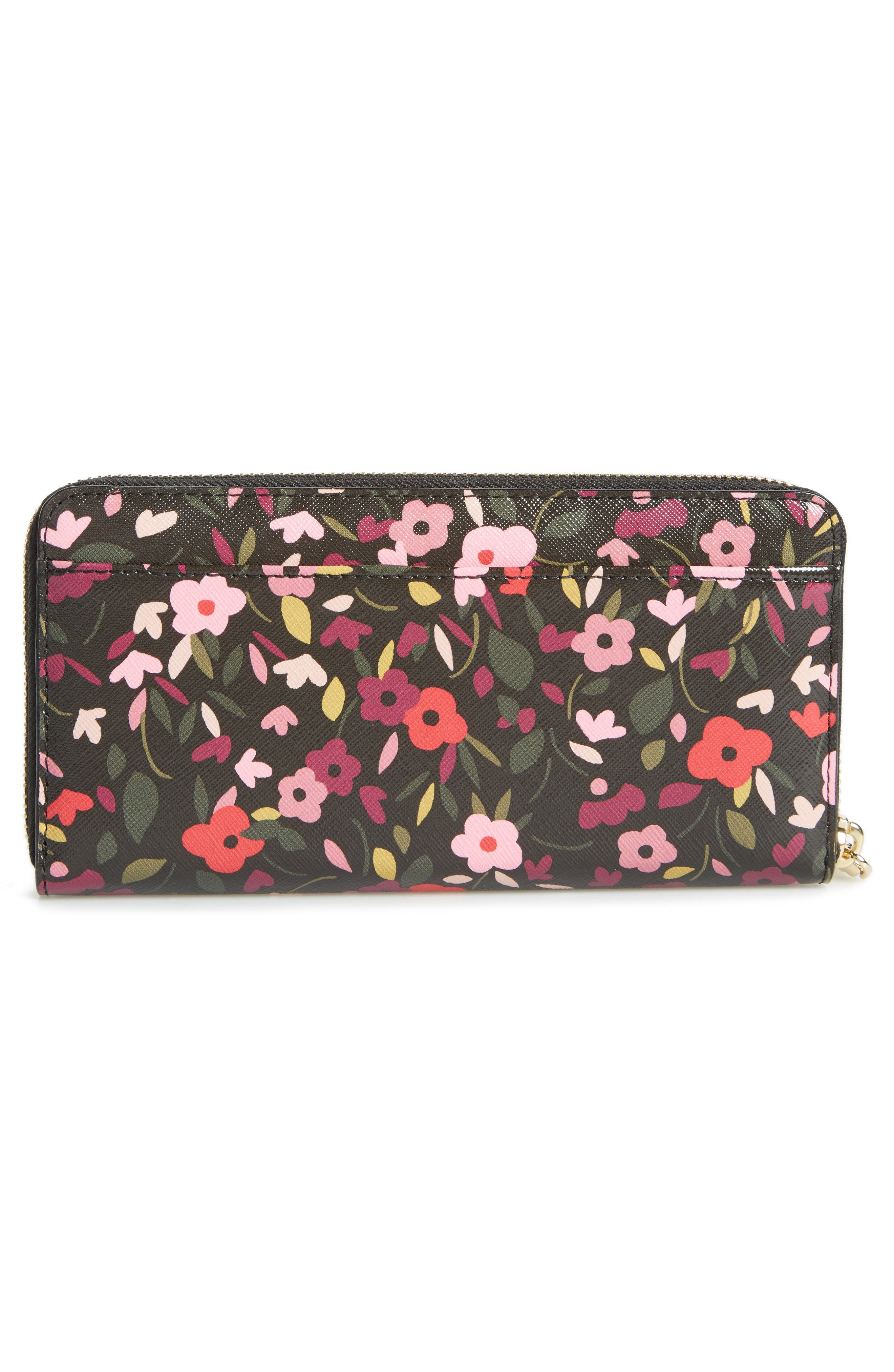 cameron street - lacey zip around wallet,                             Alternate thumbnail 4, color,                             001