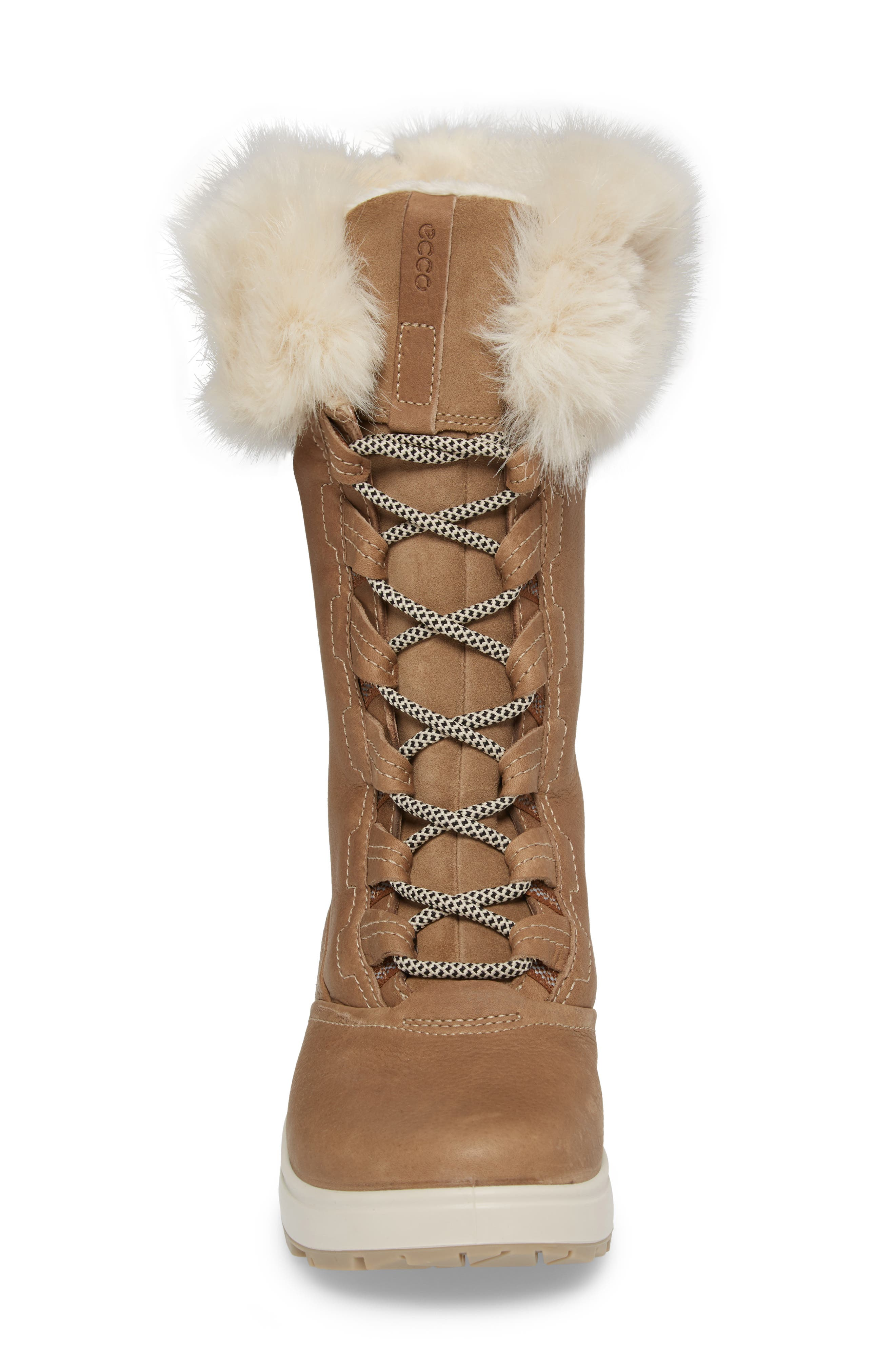 Noyce Siberia Hydromax Water Resistant Winter Boot with Faux Fur Trim,                             Alternate thumbnail 8, color,