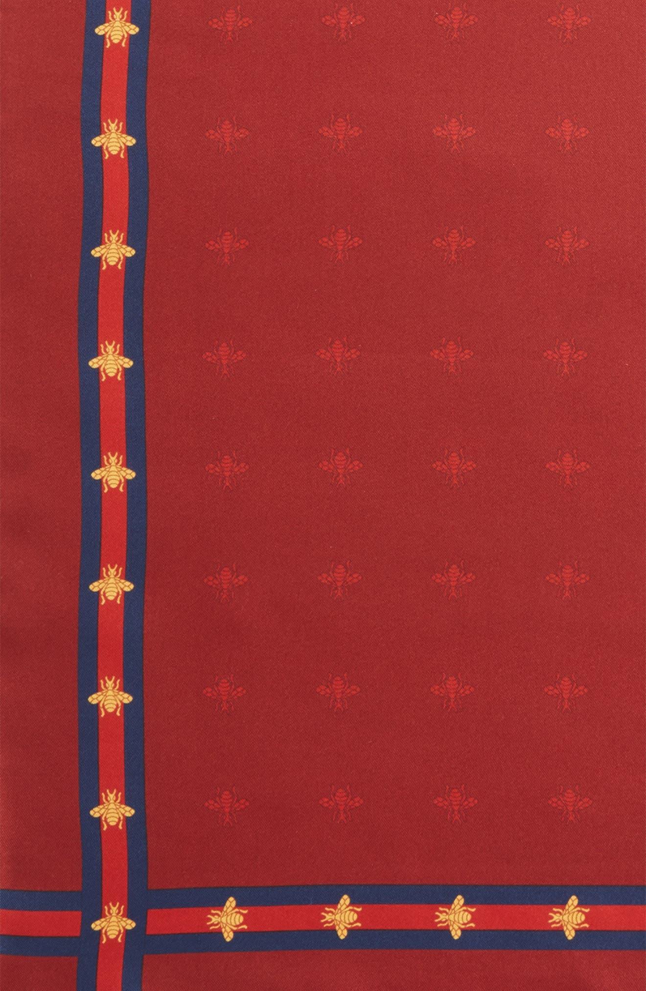 Runebis Silk Twill Pocket Square,                             Alternate thumbnail 16, color,