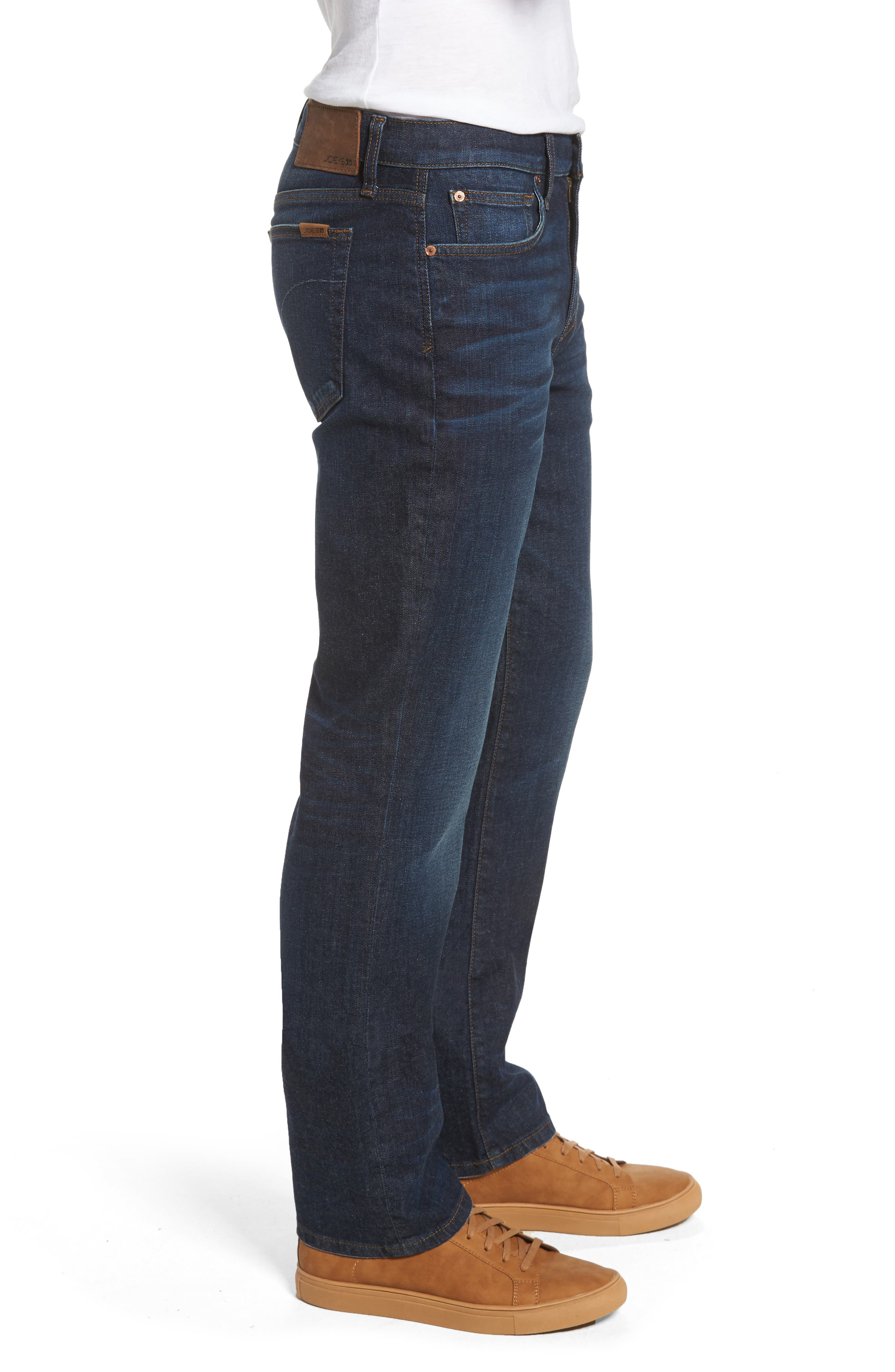 Classic Straight Leg Jeans,                             Alternate thumbnail 3, color,                             439