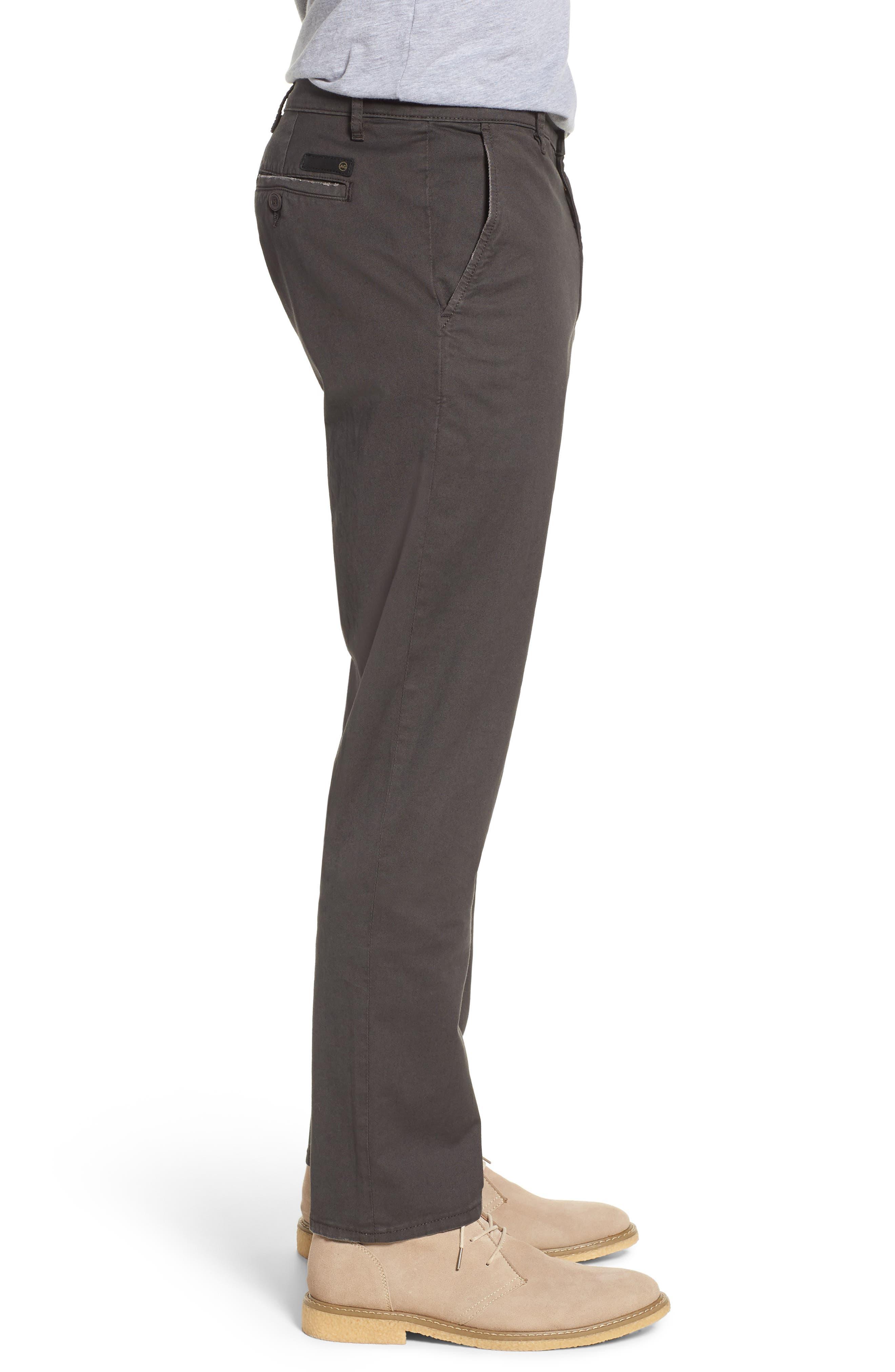Marshall Slim Straight Leg Chino Pants,                             Alternate thumbnail 3, color,                             039
