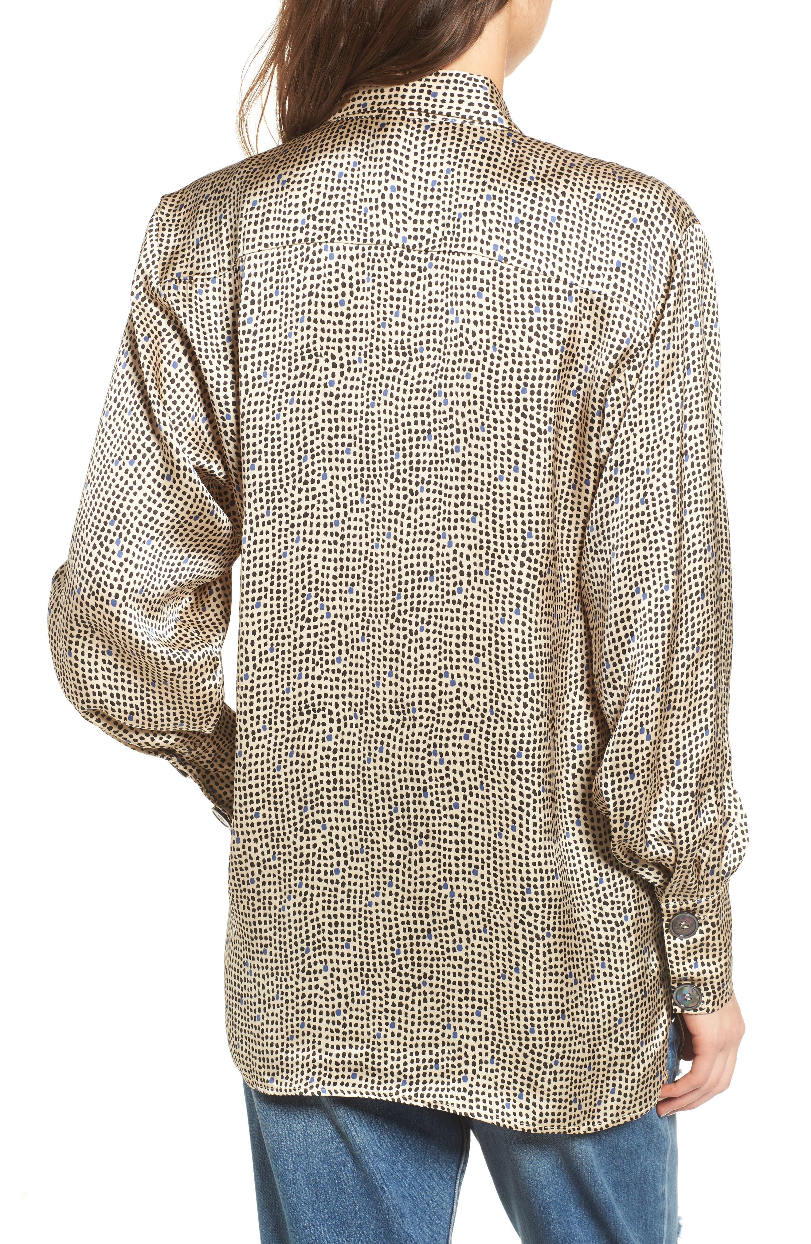 Mini Spot Shirt,                             Alternate thumbnail 2, color,                             251