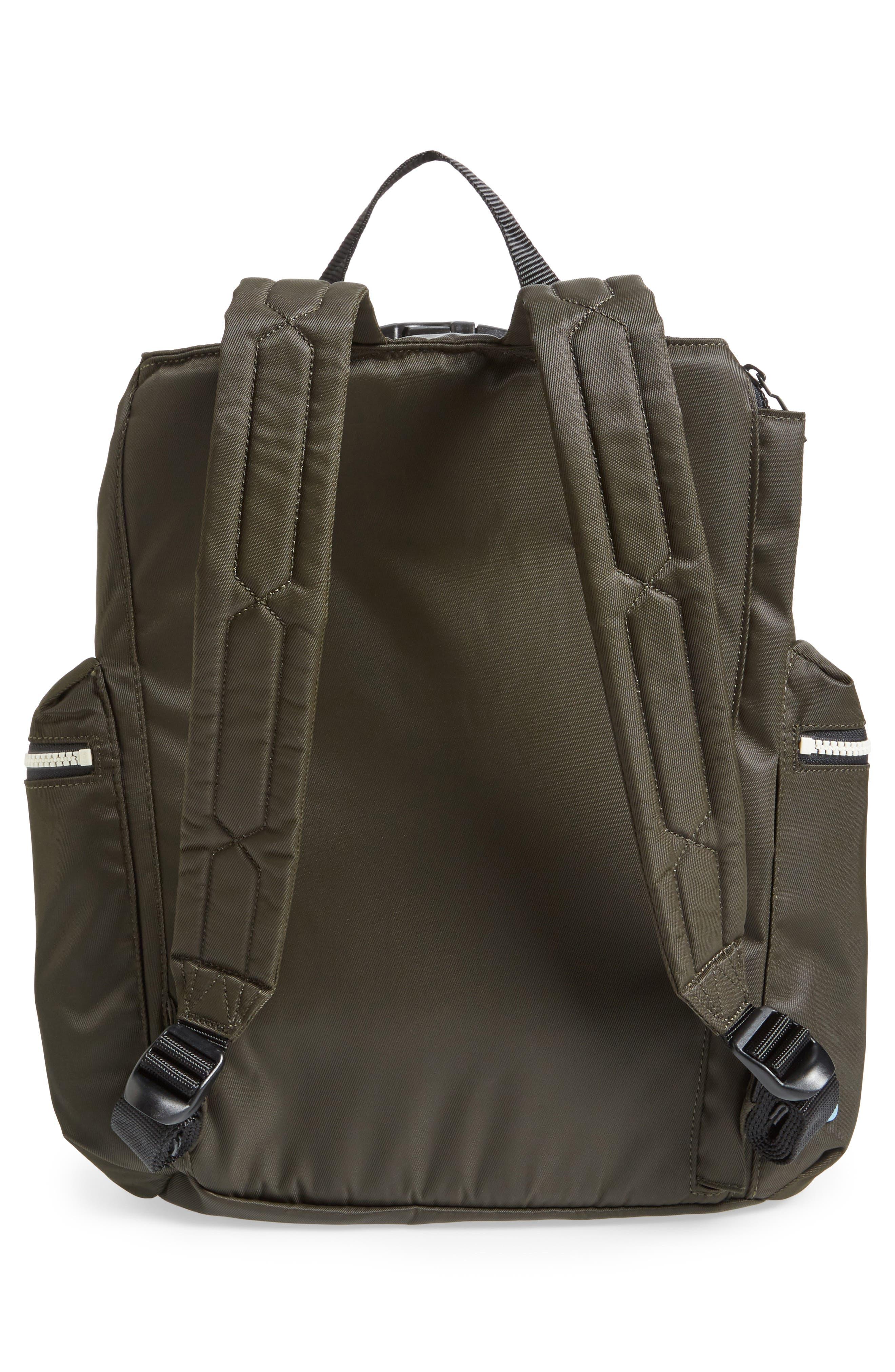 Original Top Clip Nylon Backpack,                             Alternate thumbnail 6, color,