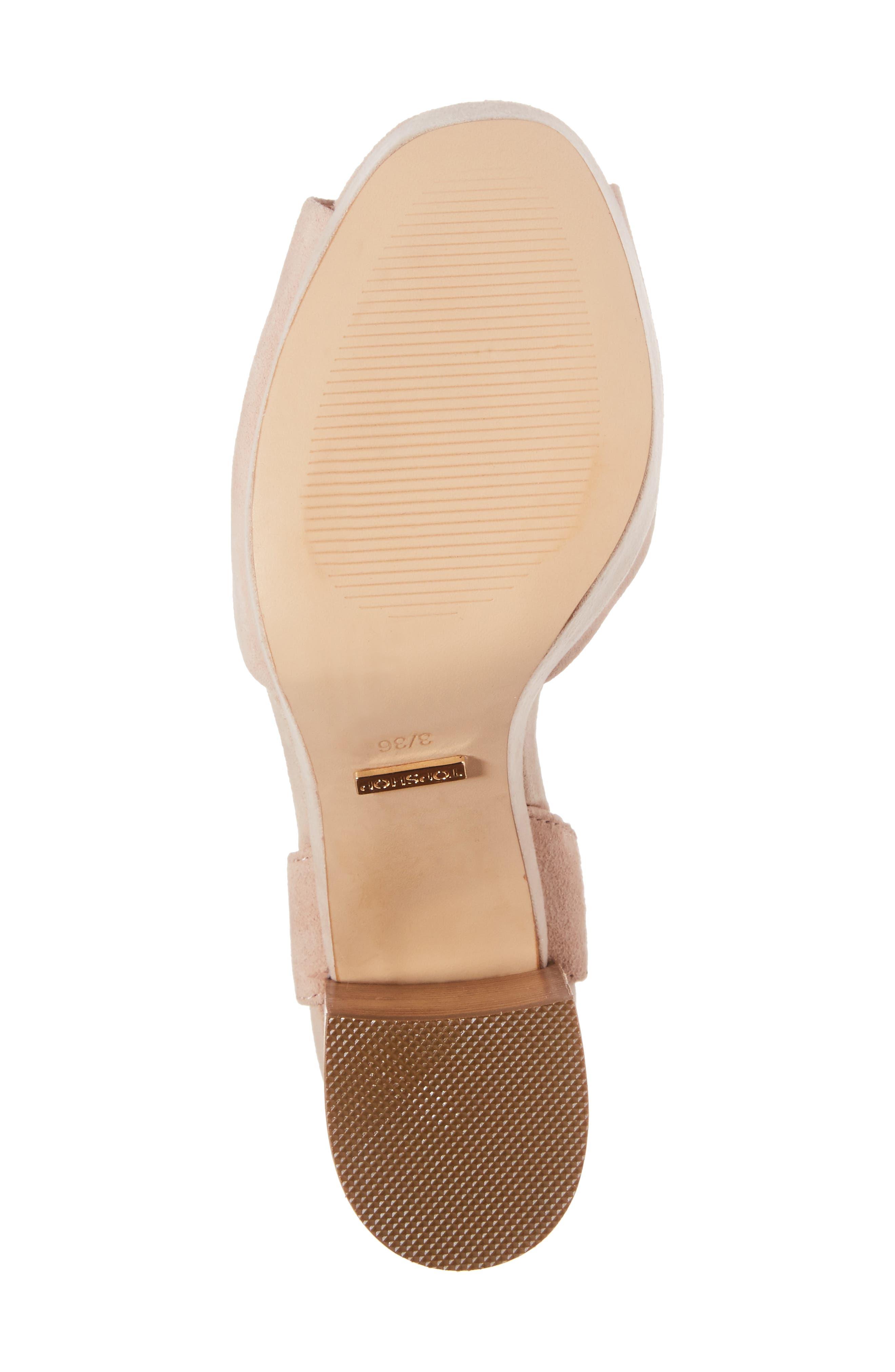 'Lana' Chunky Platform Sandal,                             Alternate thumbnail 6, color,                             250