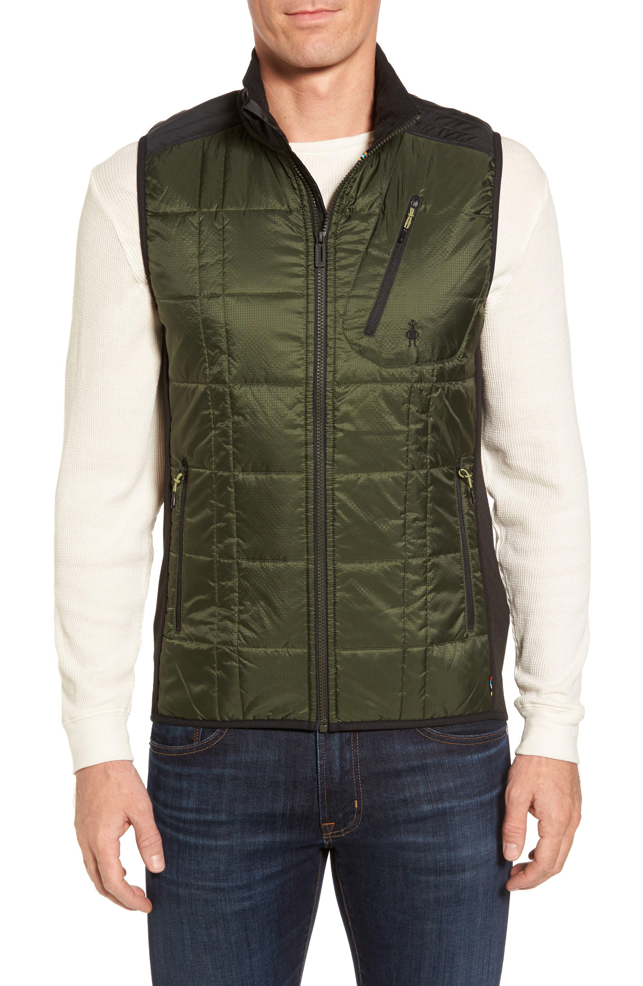 'Corbet 120' Quilted Zip Front Vest,                         Main,                         color, 301