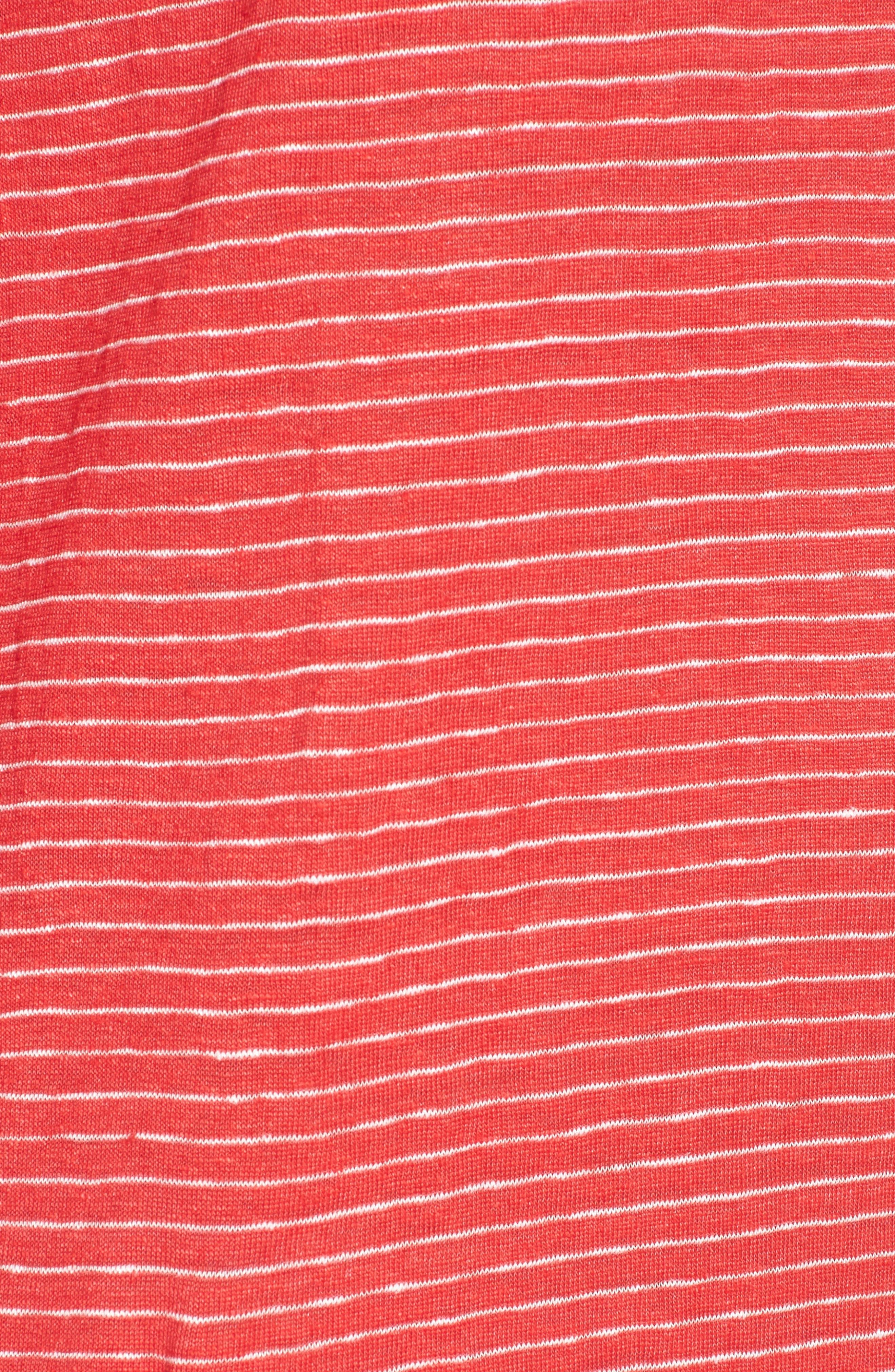 Organic Linen Shift Dress,                             Alternate thumbnail 14, color,