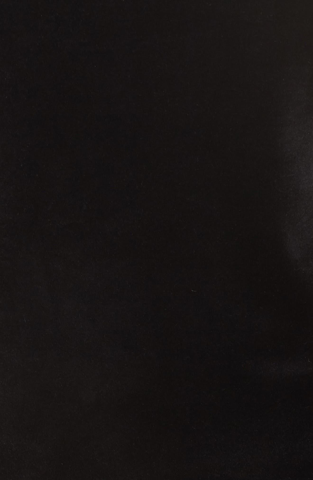 La Brea Velour Pullover,                             Alternate thumbnail 8, color,                             001