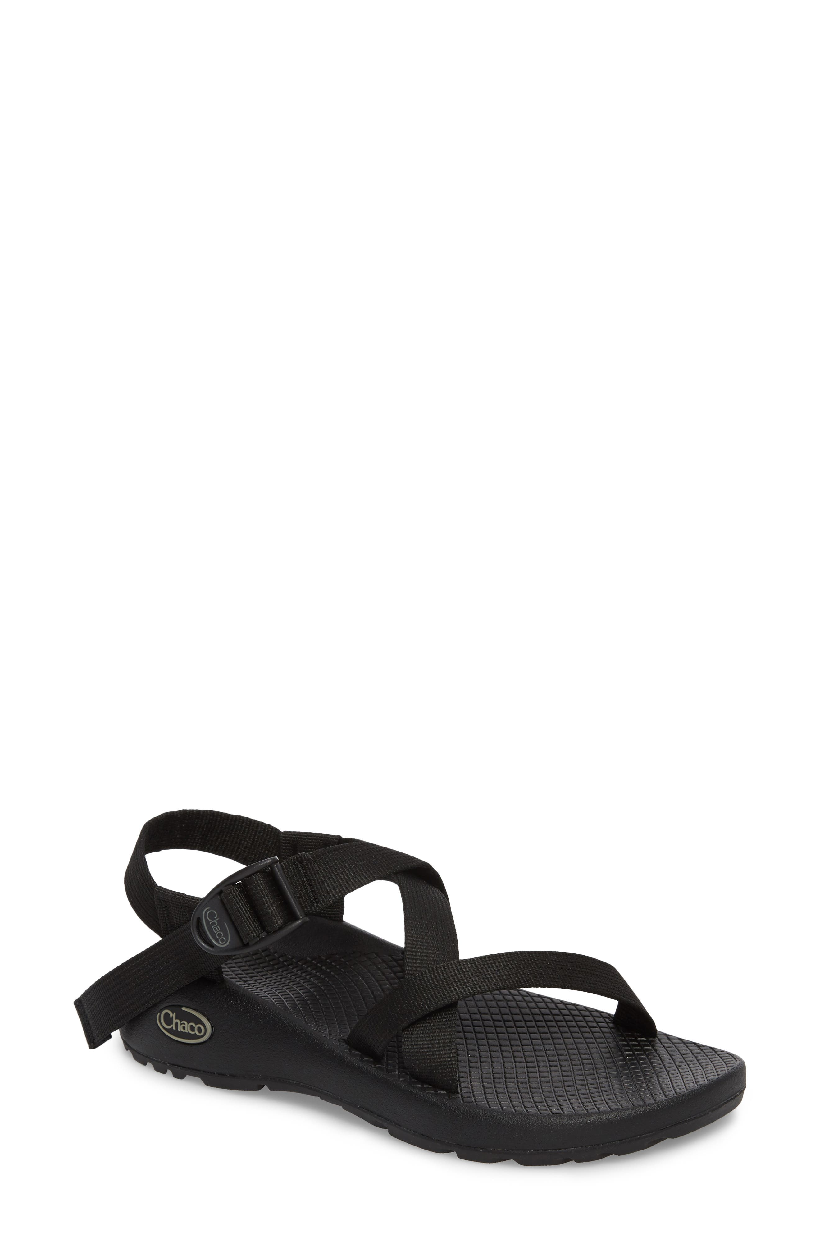 Z/1 Classic Sport Sandal,                             Main thumbnail 1, color,                             BLACK