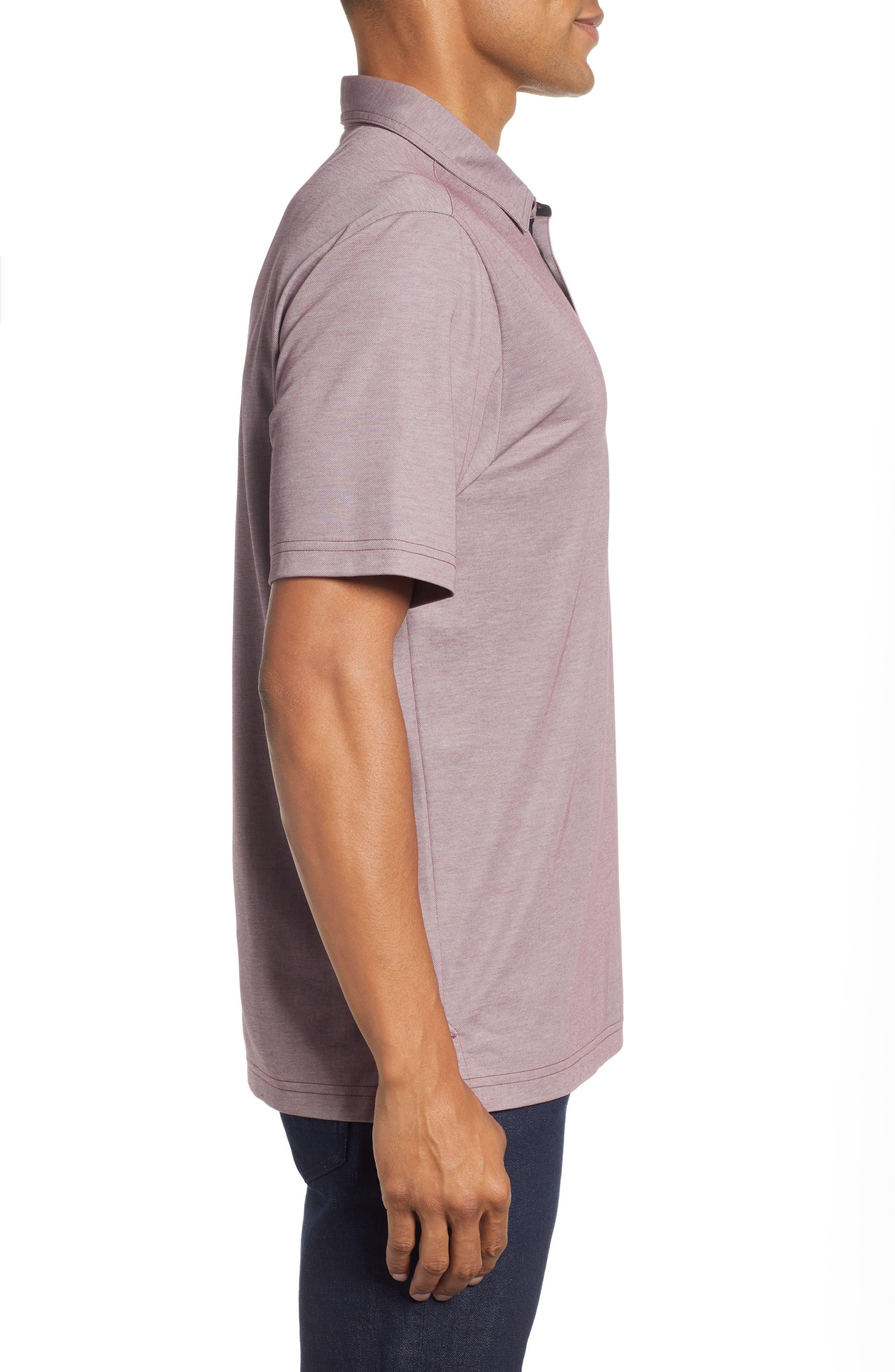 TRAVIS MATHEW,                             Tonk Regular Fit Polo Shirt,                             Alternate thumbnail 3, color,                             600