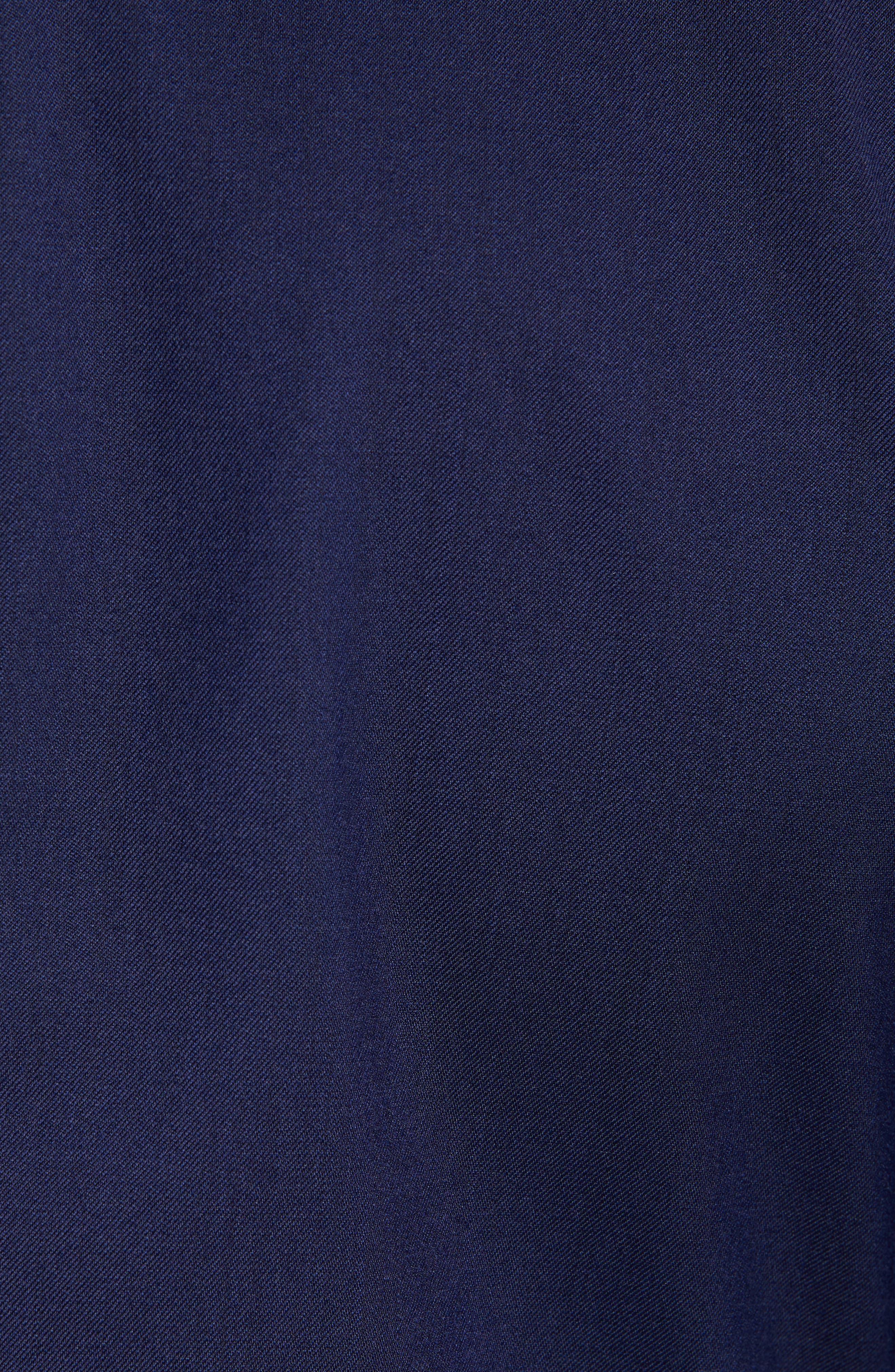 Capstone Slim Fit Italian Wool Blend Dinner Jacket,                             Alternate thumbnail 6, color,                             NAVY
