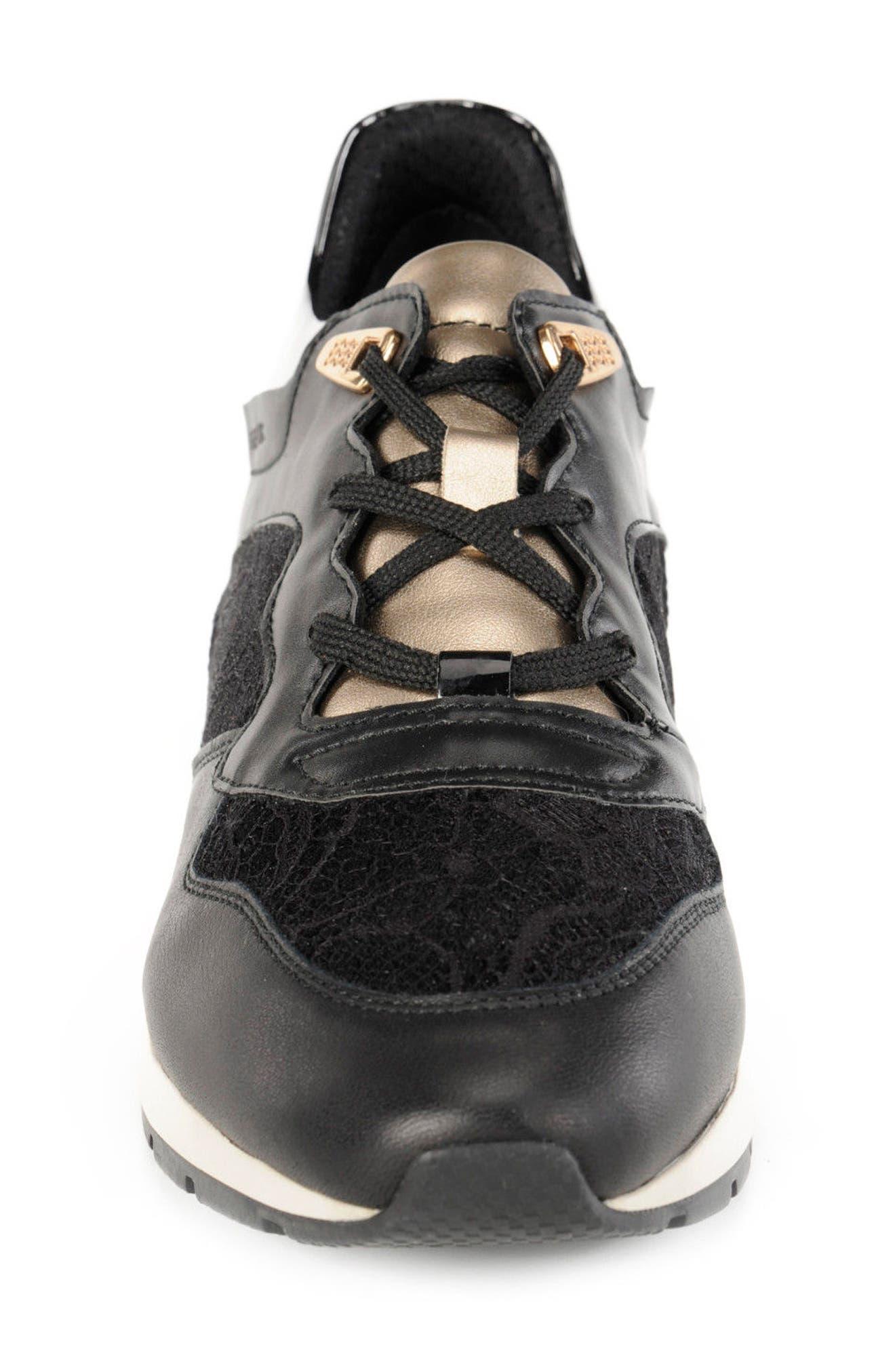 Shahira Sneaker,                             Alternate thumbnail 4, color,                             001