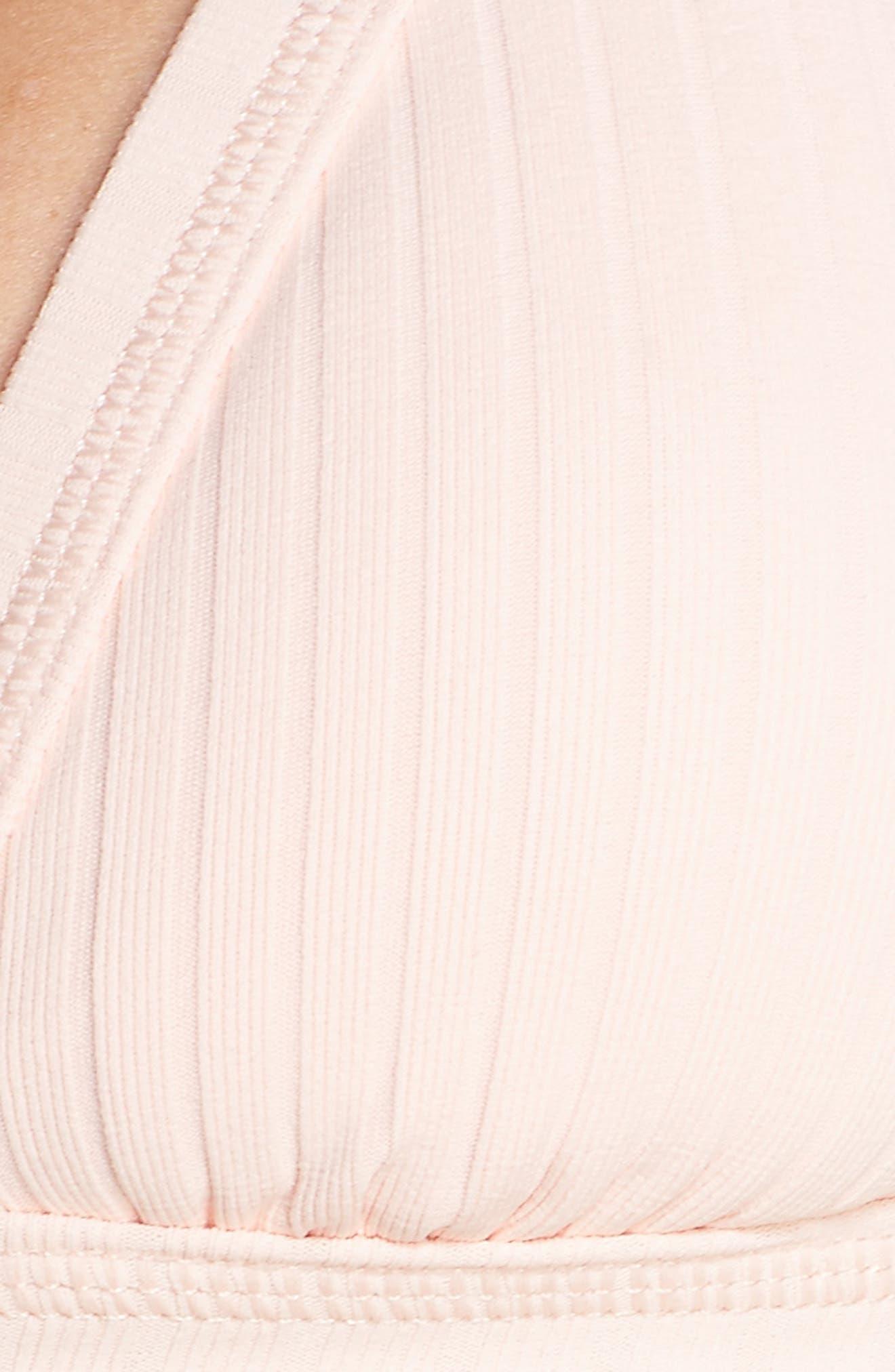 Inka Ribbed Bikini Top,                             Alternate thumbnail 5, color,                             950