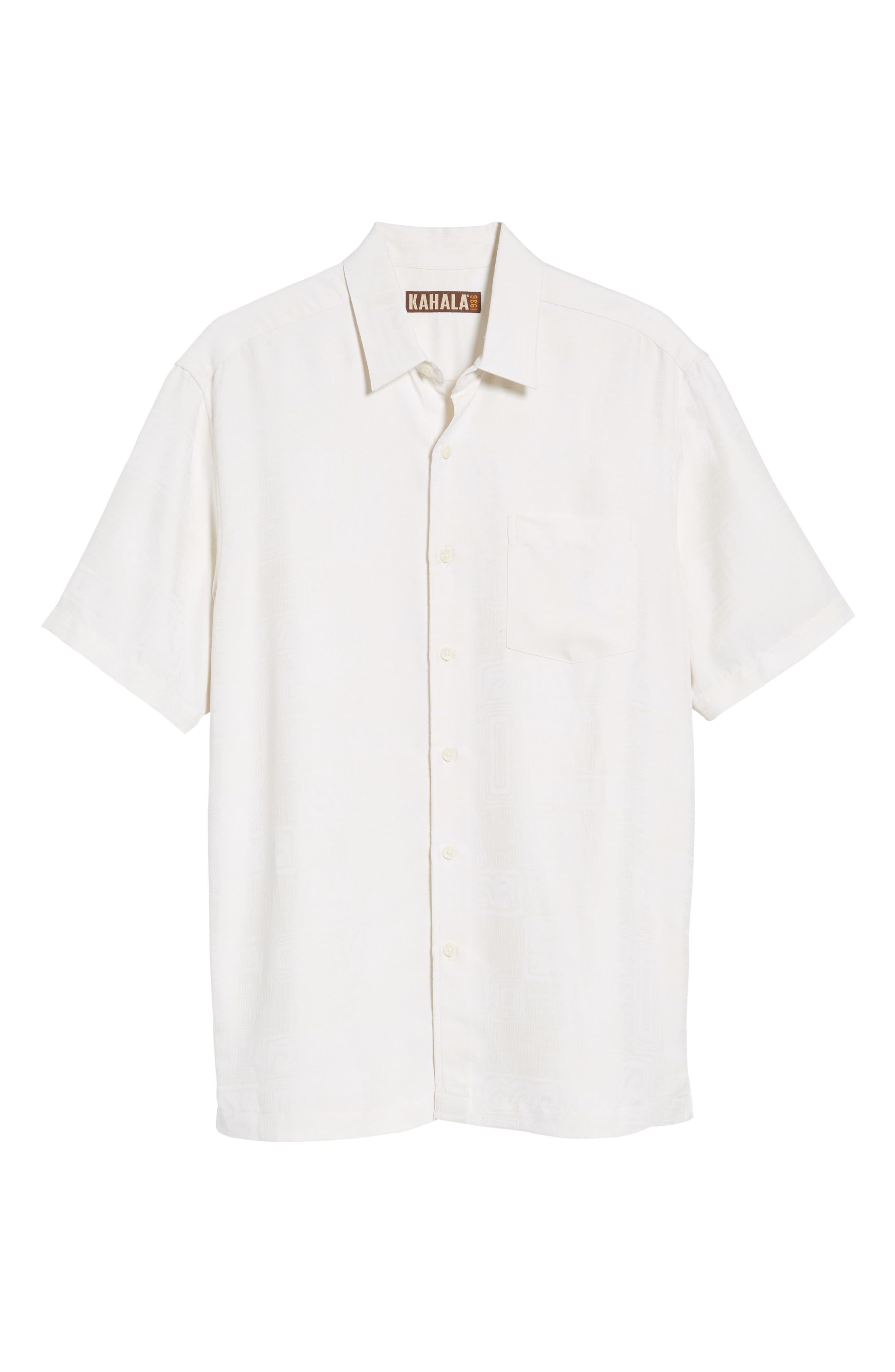 Sea Shells Classic Fit Sport Shirt,                             Alternate thumbnail 17, color,