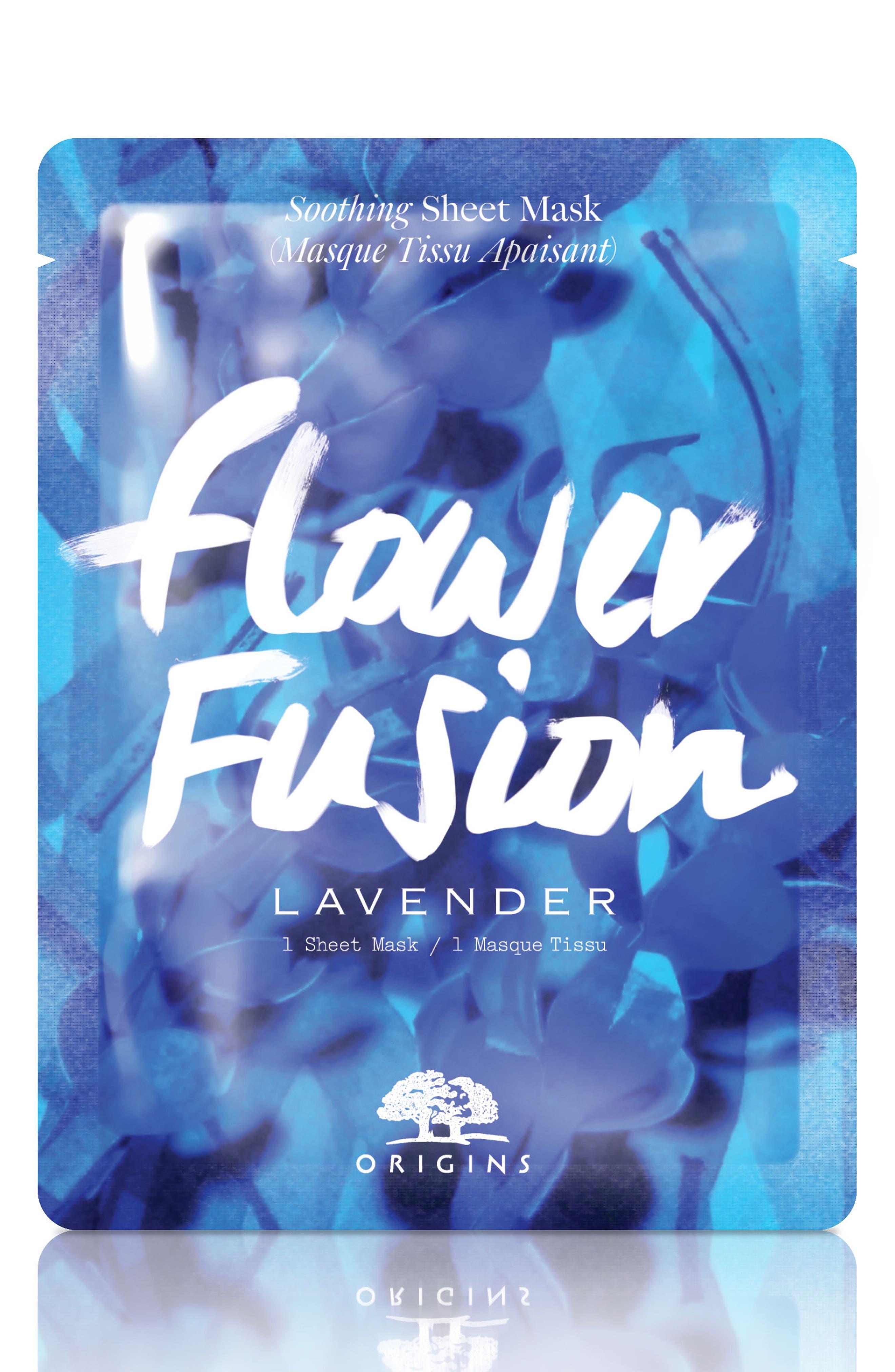 Flower Fusion Hydrating Sheet Mask,                             Main thumbnail 2, color,