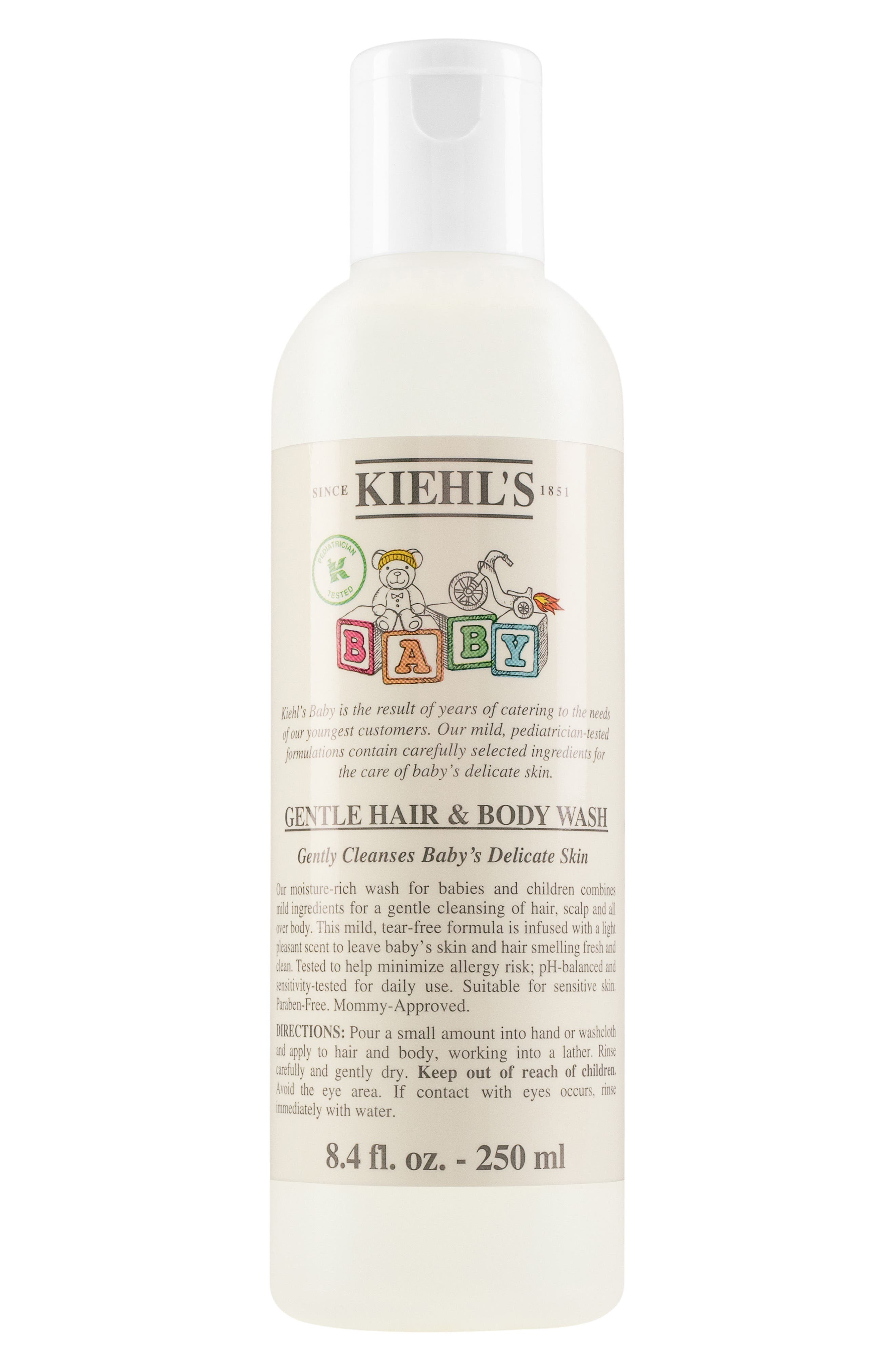 Baby Gentle Hair & Body Wash,                             Main thumbnail 1, color,                             NO COLOR