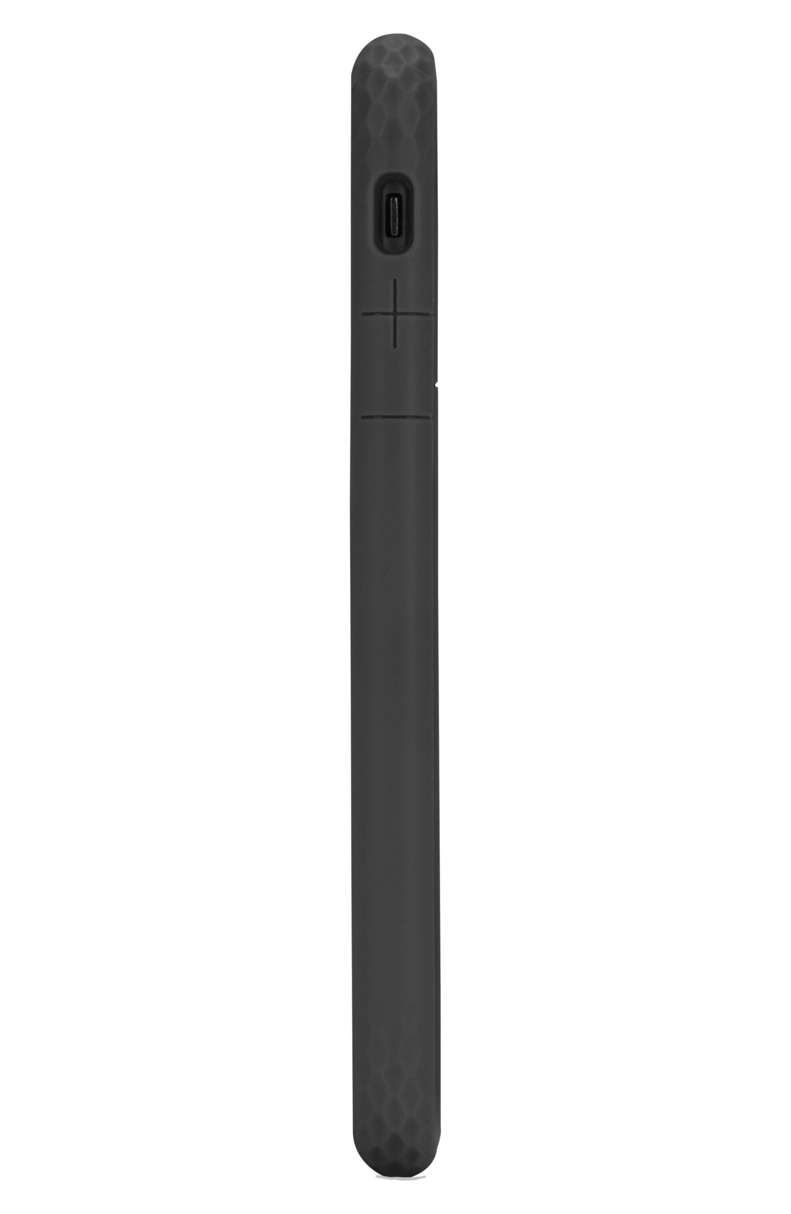 Frame iPhone 7/8 Case,                             Alternate thumbnail 2, color,                             BLACK