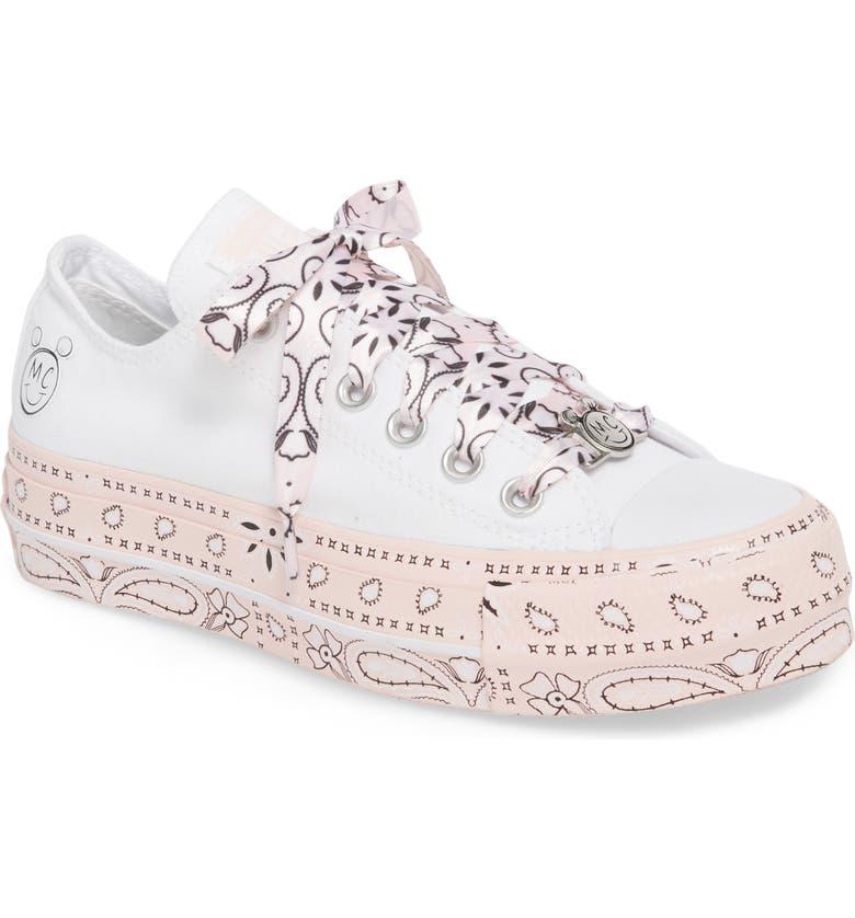 29c5877739c CONVERSE x Miley Cyrus Chuck Taylor All Star Bandana Platform Sneaker