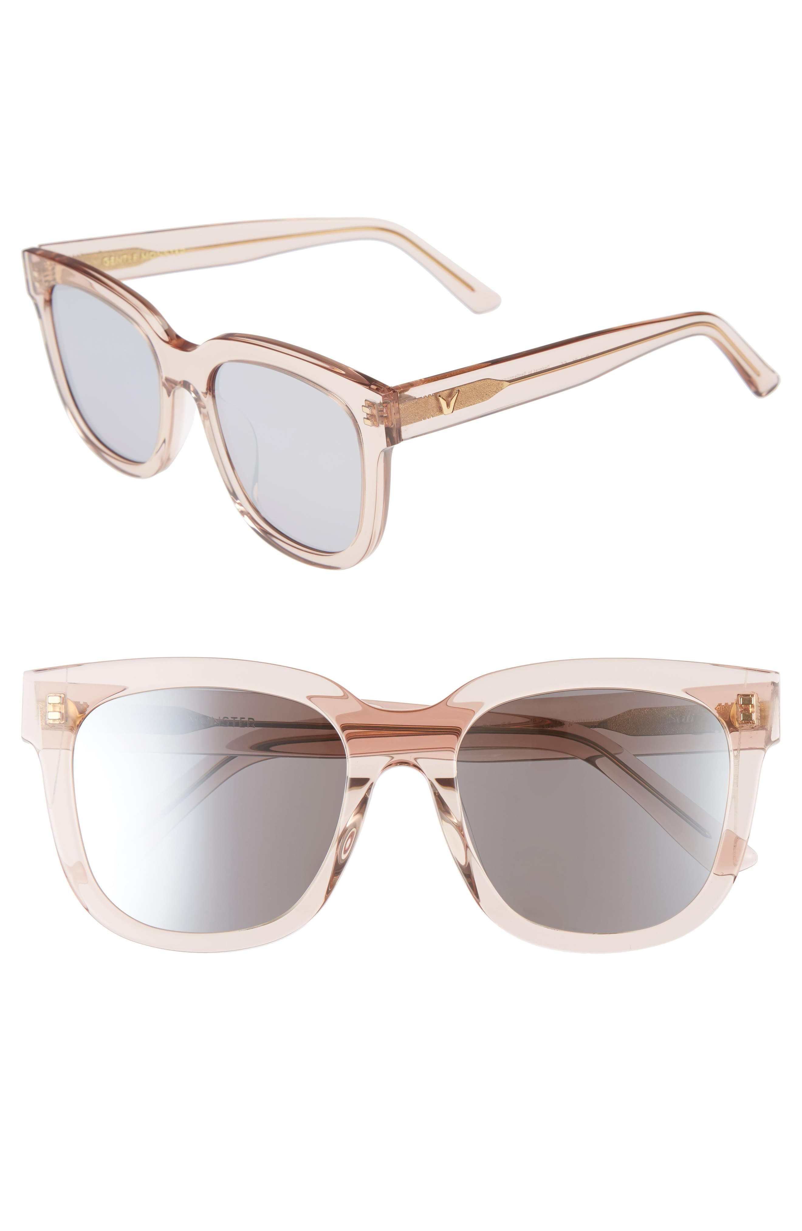Salt 55mm Sunglasses,                             Main thumbnail 4, color,
