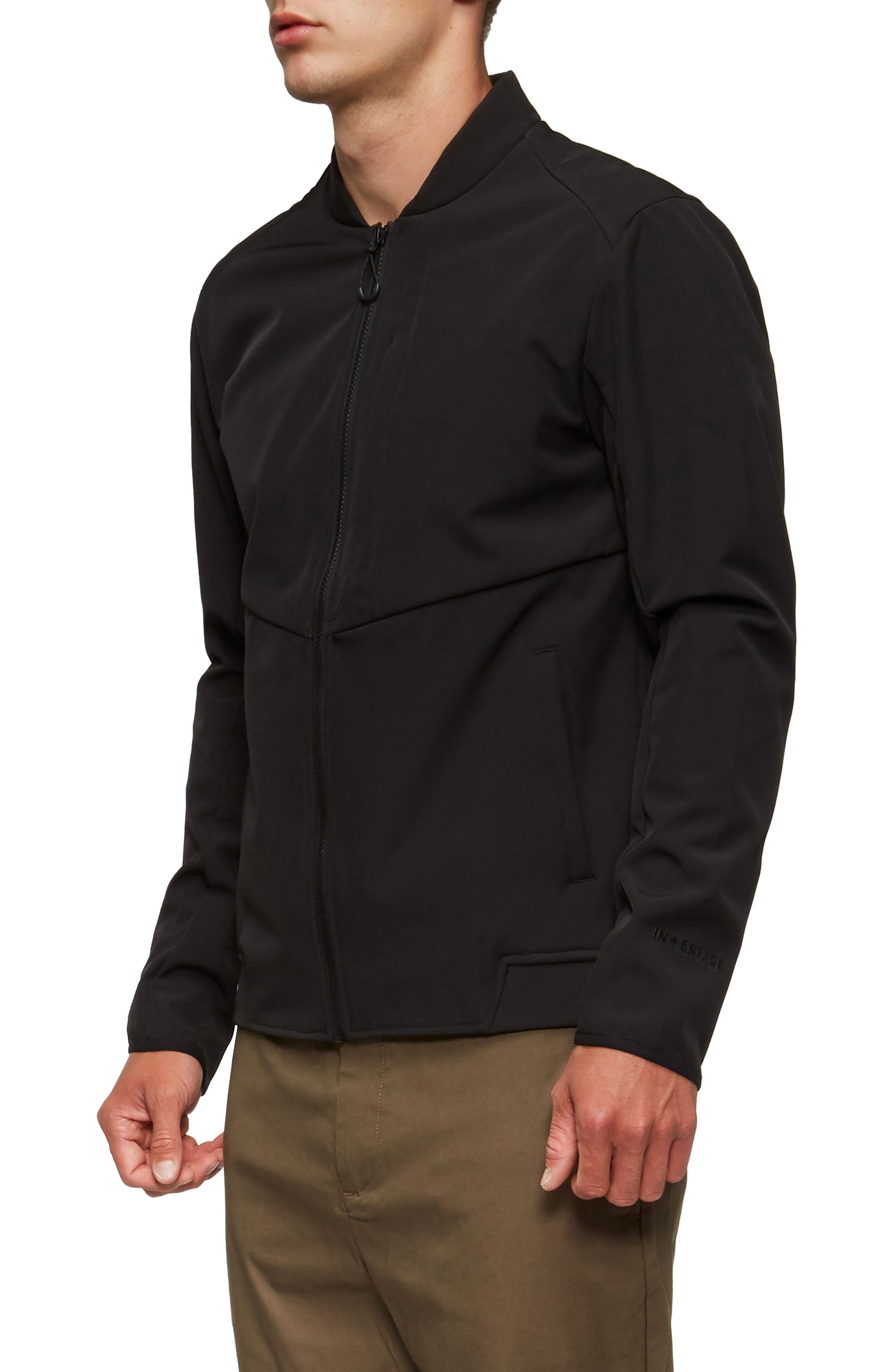 Decoy Fleece Jacket,                             Alternate thumbnail 3, color,                             001