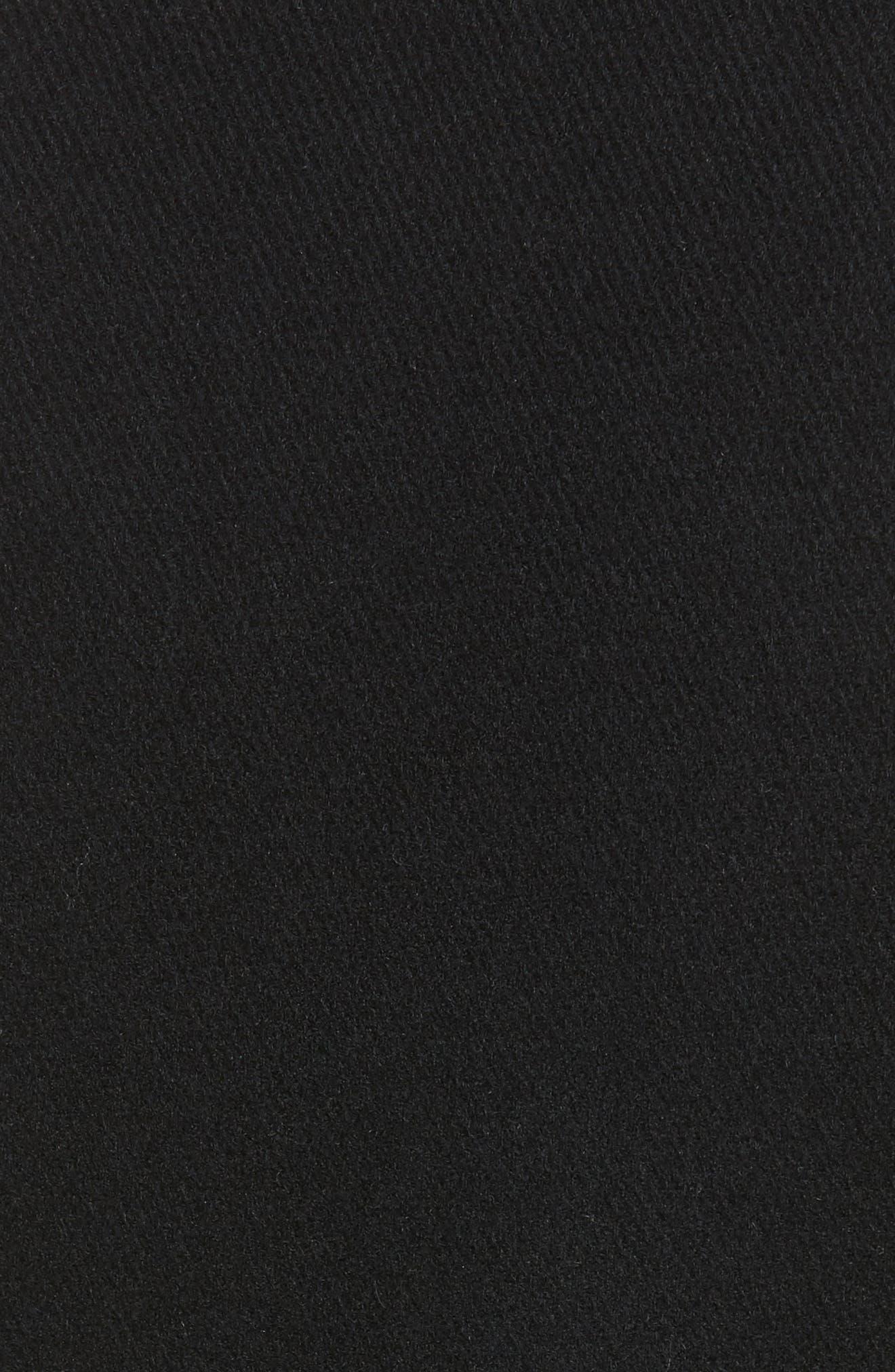 wool blend peacoat,                             Alternate thumbnail 6, color,                             001