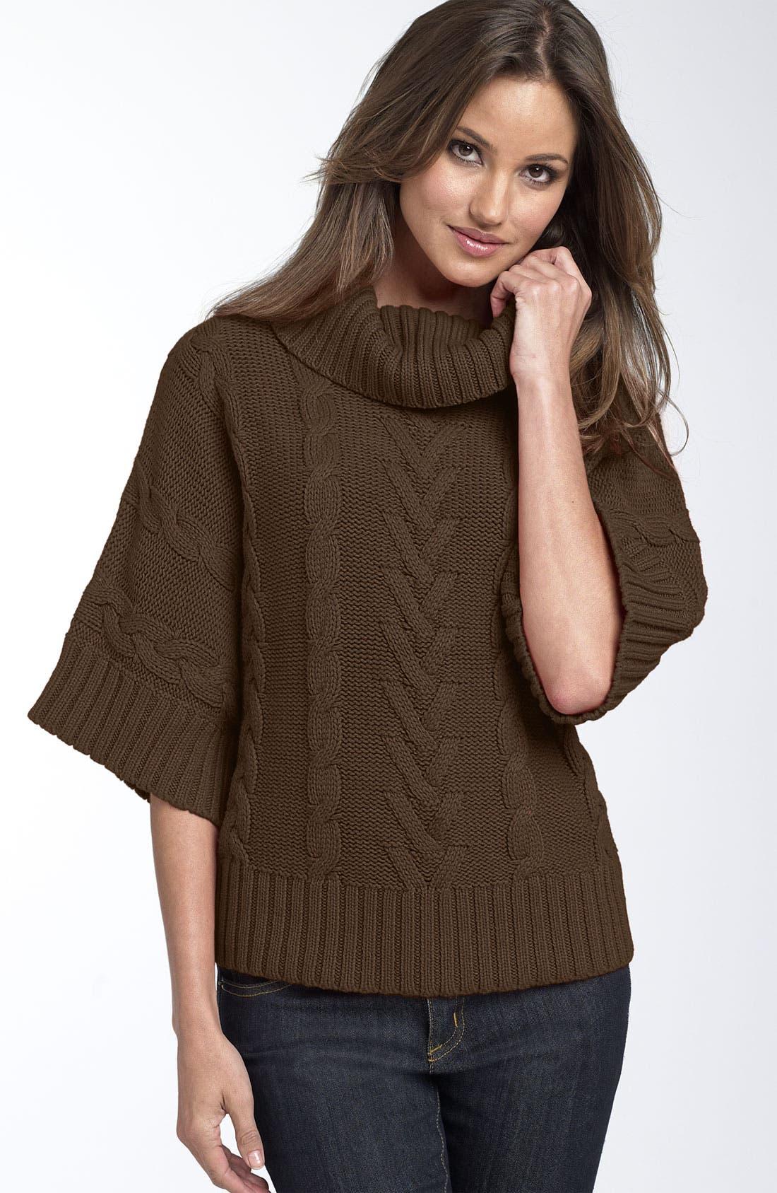LEO & NICOLE Cowl Neck Sweater, Main, color, 275