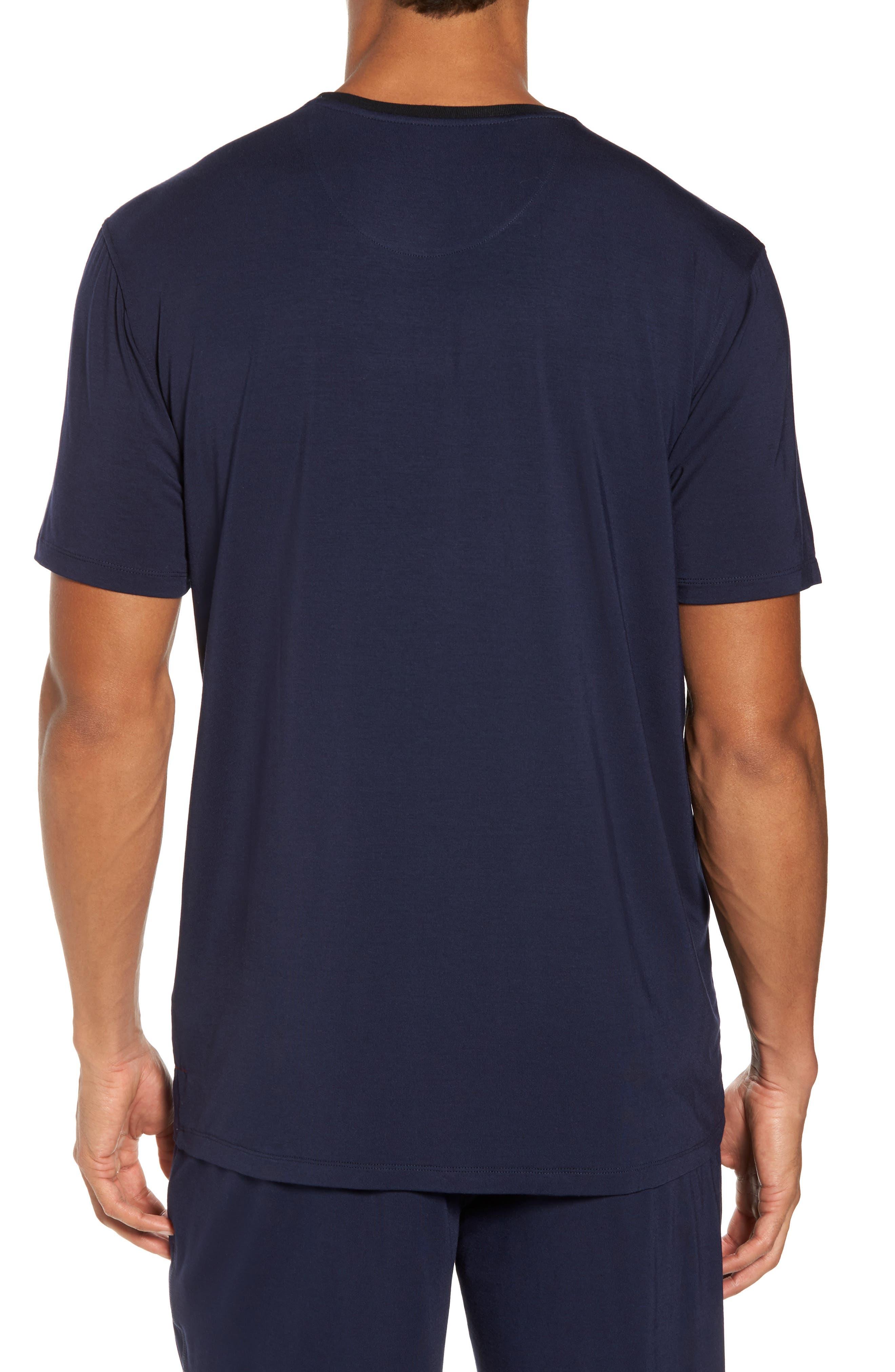Modal & Silk Pocket T-Shirt,                             Alternate thumbnail 2, color,                             411