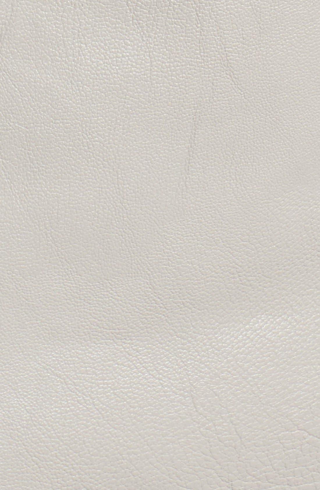 Faux Leather Moto Jacket,                             Alternate thumbnail 15, color,
