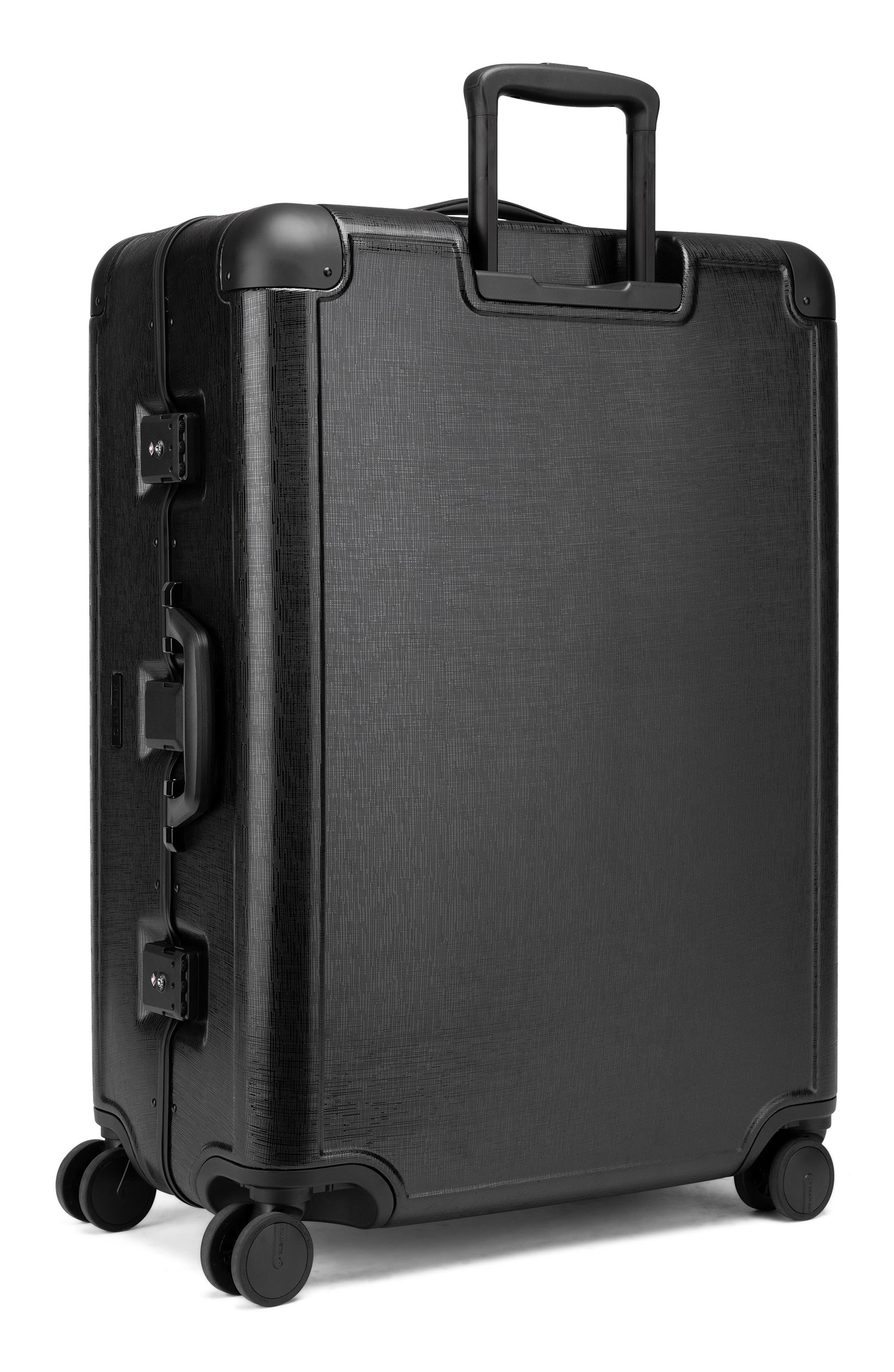 x Jen Atkin 29-Inch Suitcase,                             Alternate thumbnail 4, color,                             BLACK