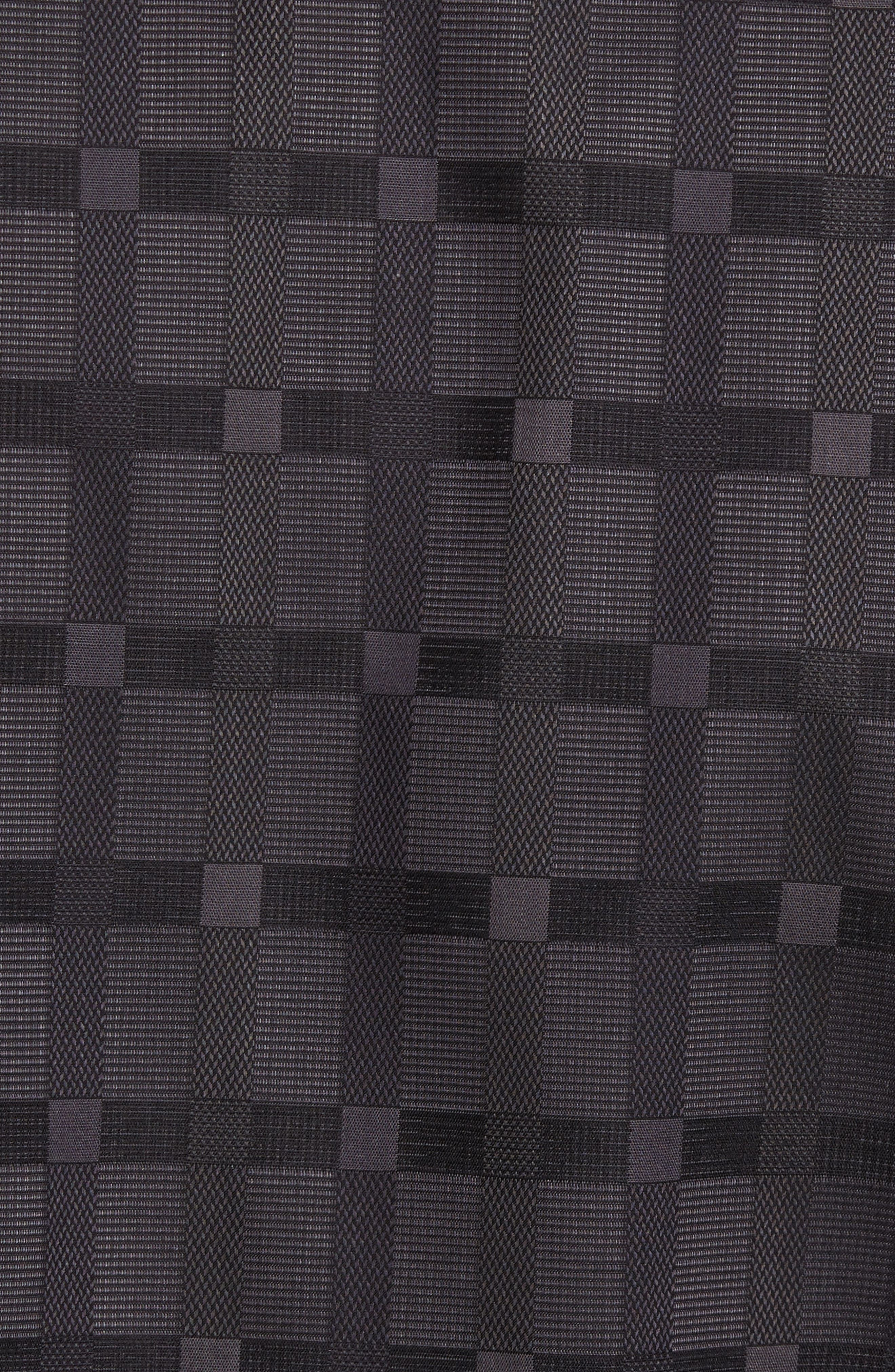 Classic Fit Check Jacquard Sport Shirt,                             Alternate thumbnail 5, color,