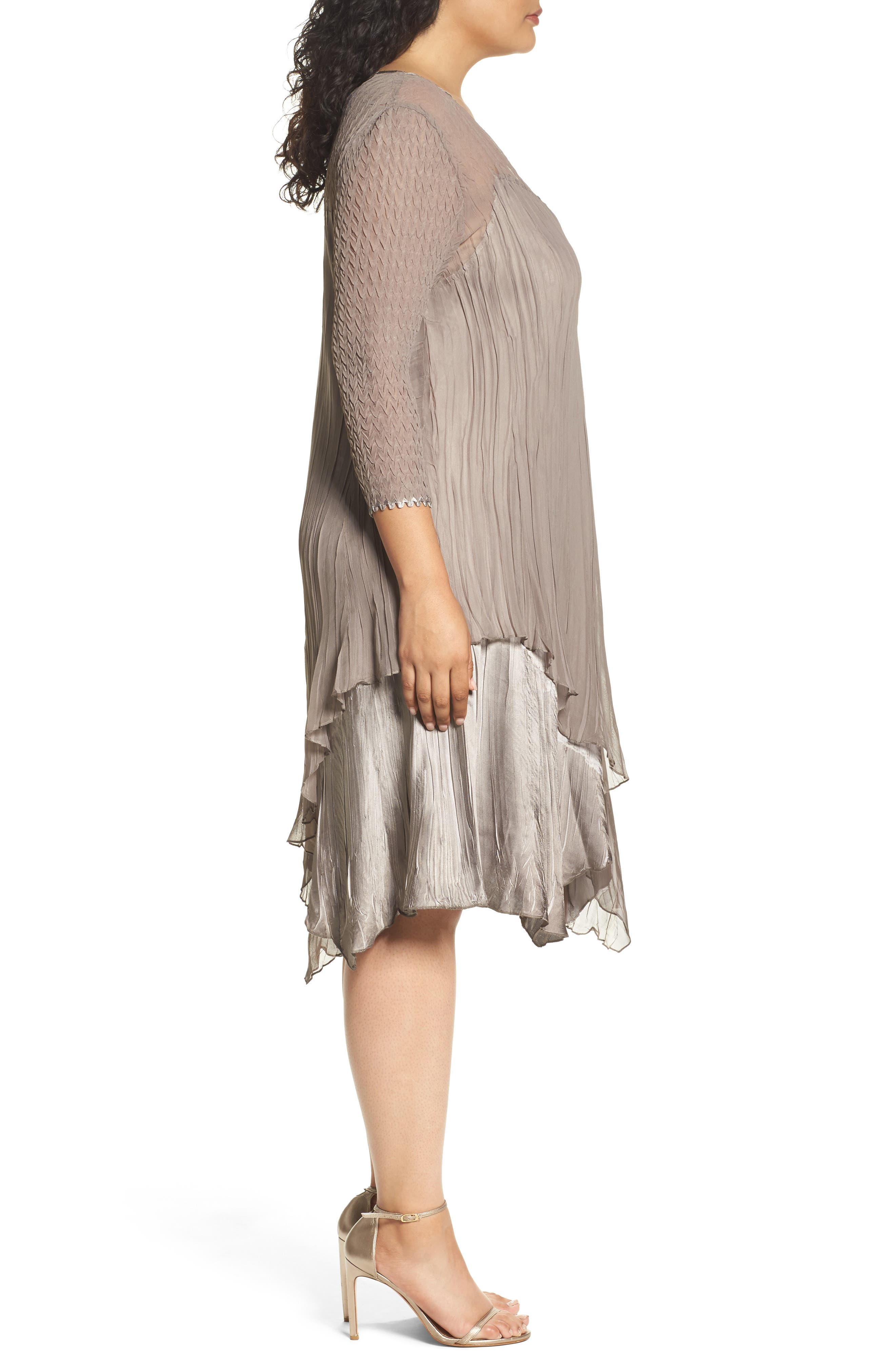 Tiered Dress,                             Alternate thumbnail 3, color,                             251
