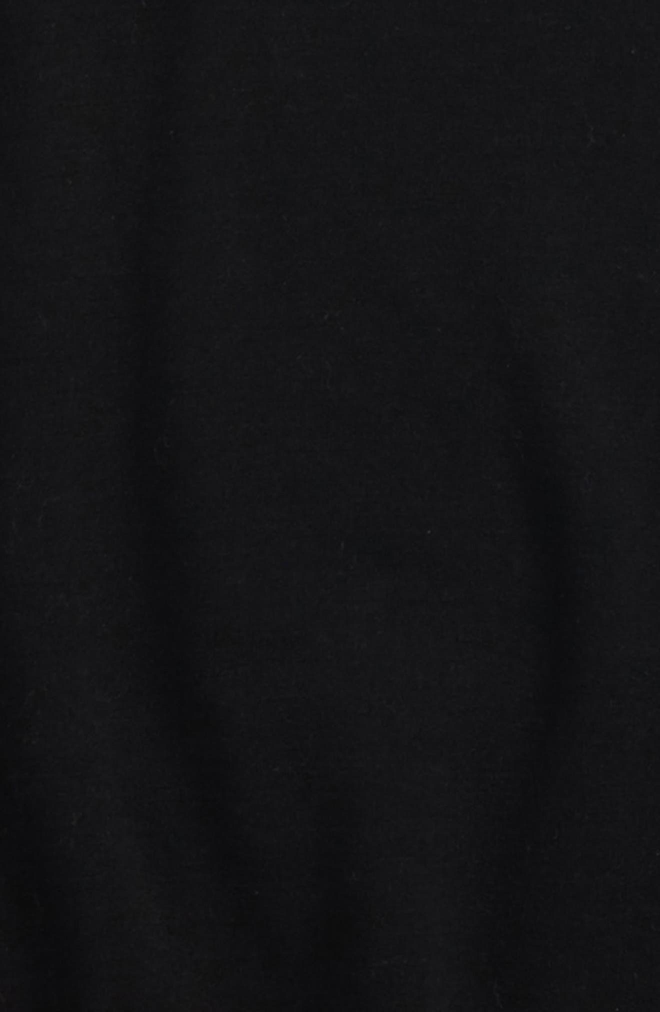 Cold Shoulder Sweatshirt,                             Alternate thumbnail 2, color,                             001