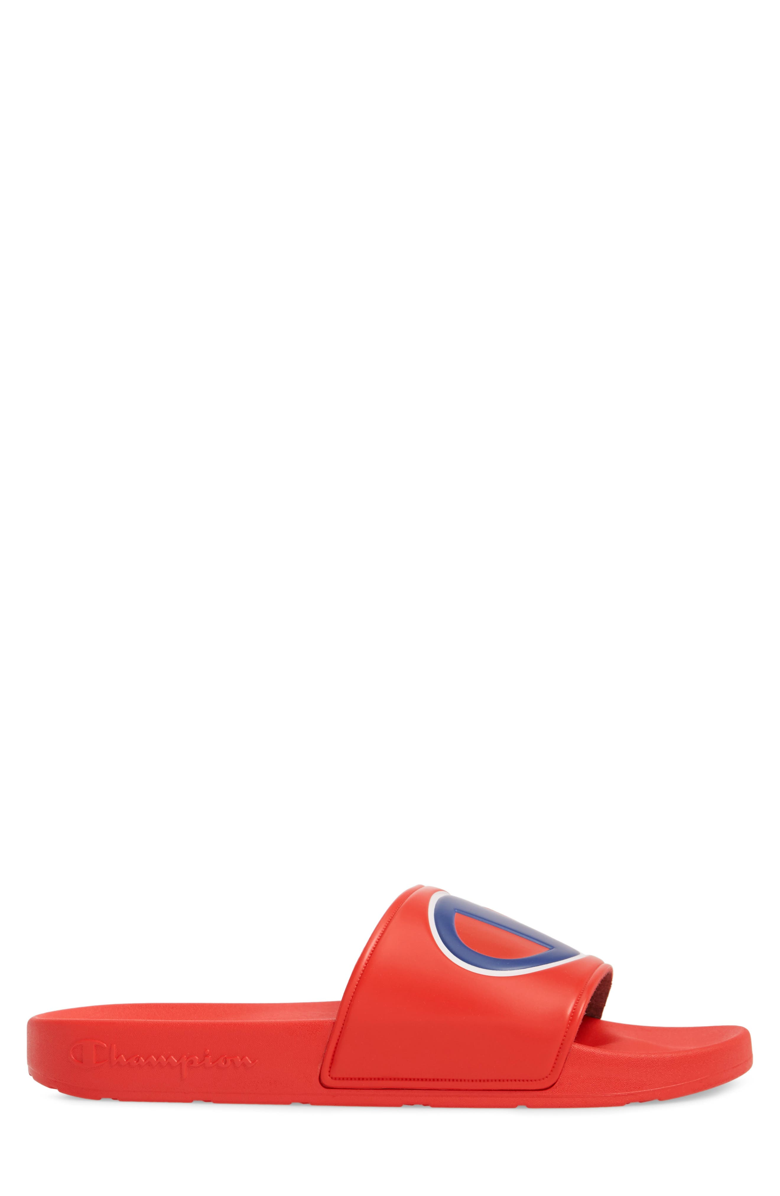 IPO Sports Slide,                             Alternate thumbnail 3, color,                             RED