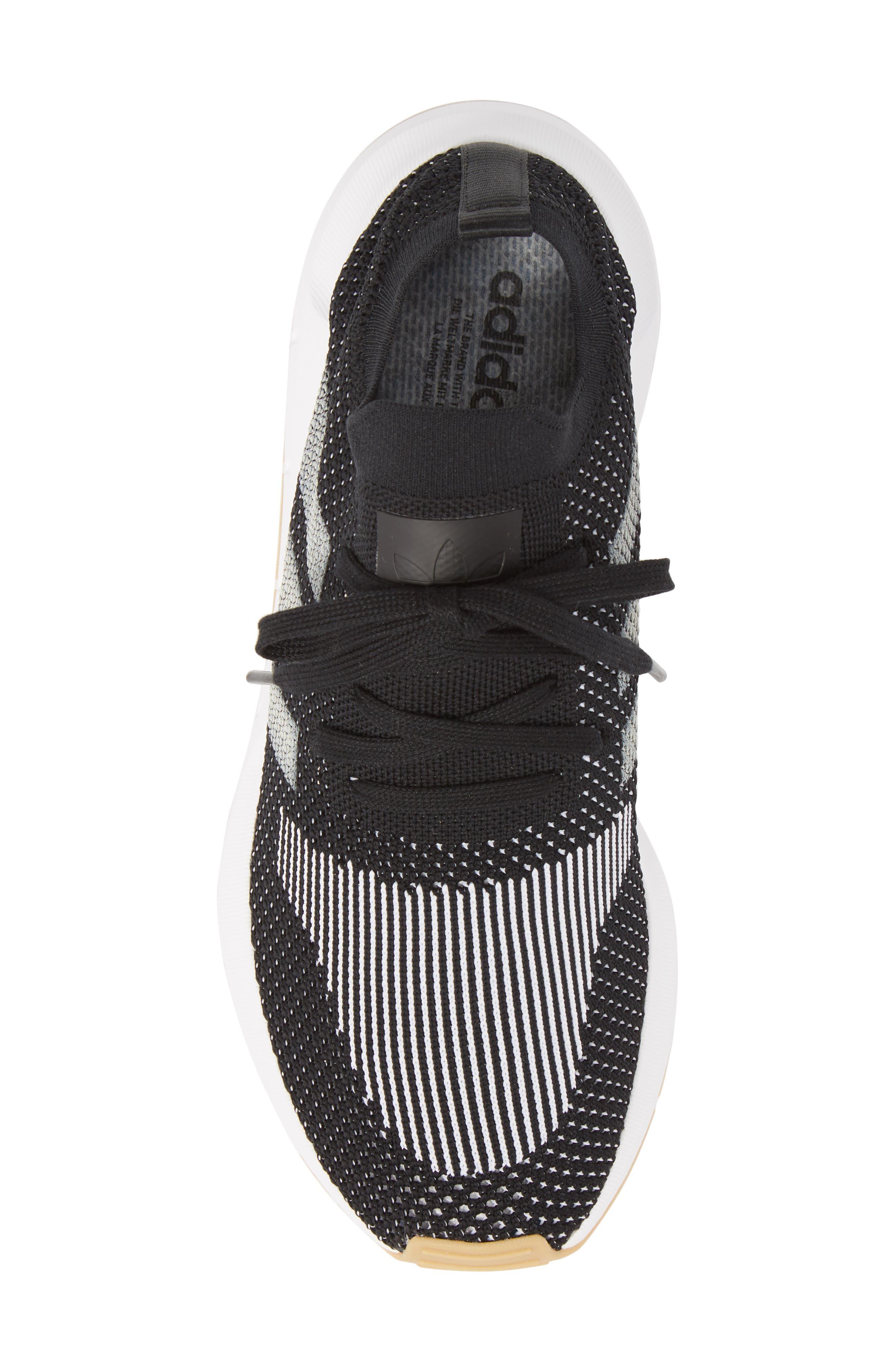 Swift Run Primeknit Sneaker,                             Alternate thumbnail 5, color,                             001