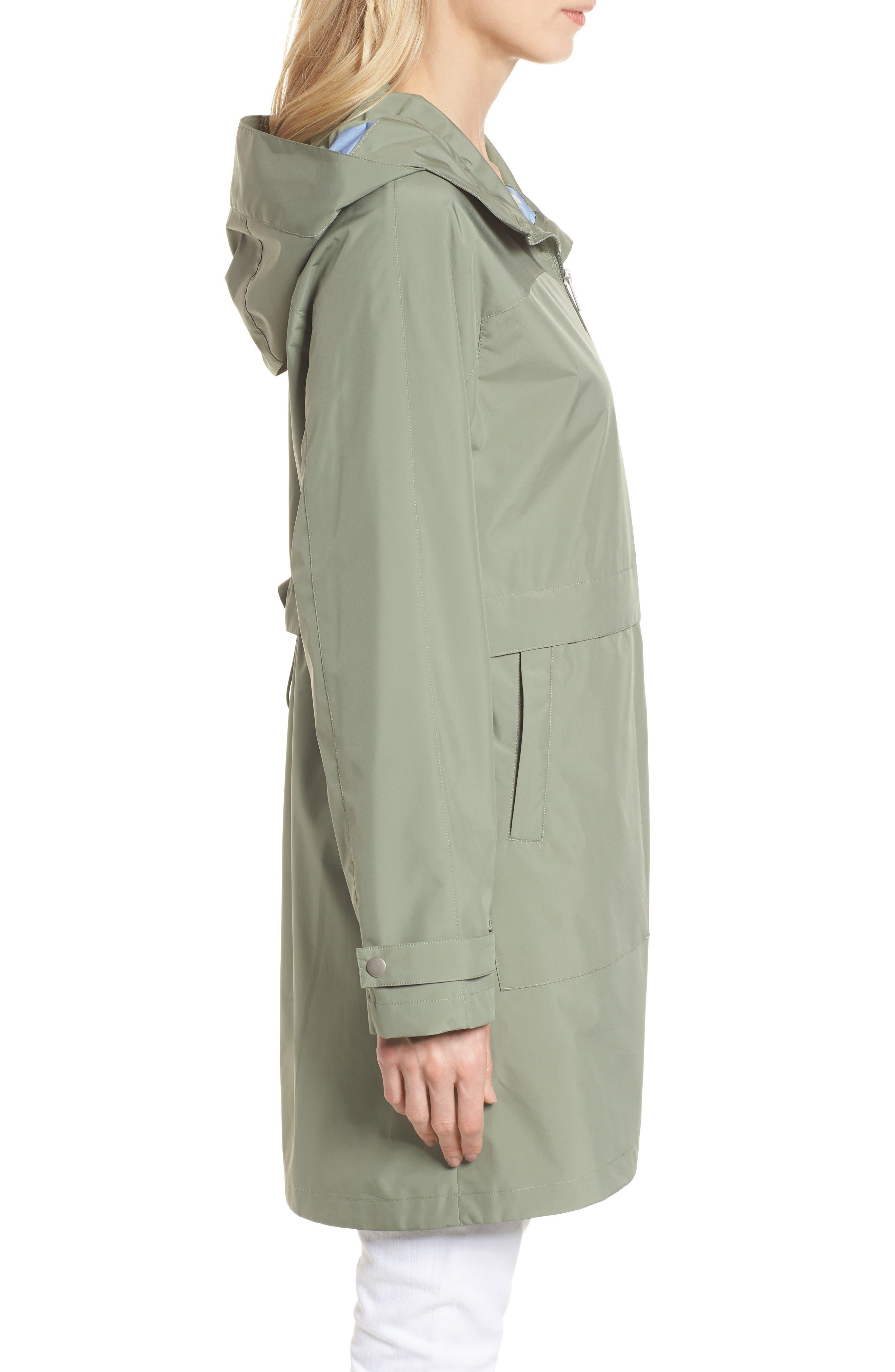 Pearl Cloth Hooded Jacket,                             Alternate thumbnail 7, color,