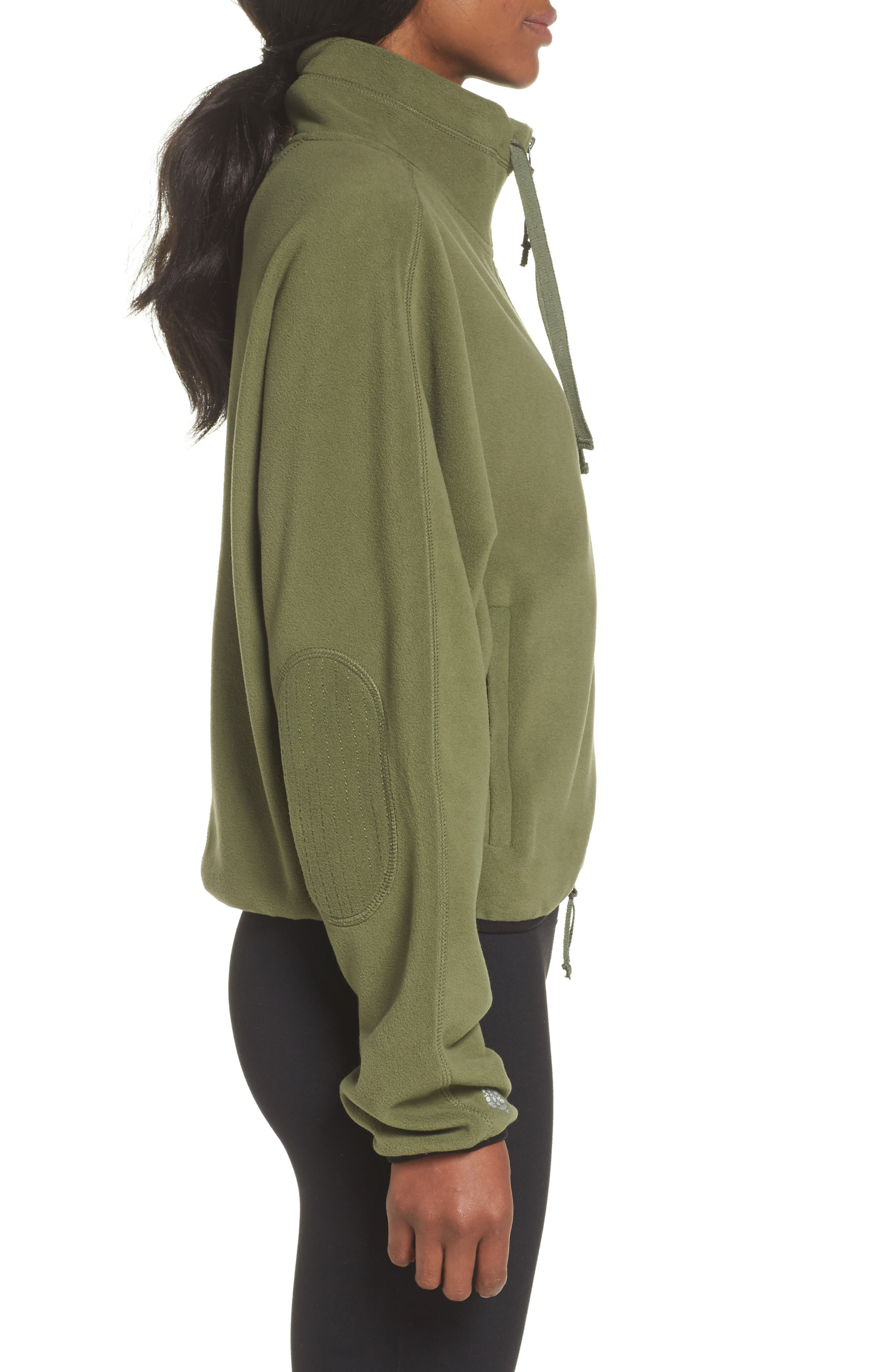 FP Movement Higher Ground Fleece Jacket,                             Alternate thumbnail 7, color,