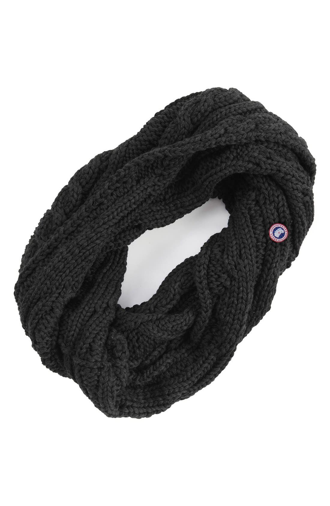 Chunky Cable Wool Snood,                         Main,                         color,