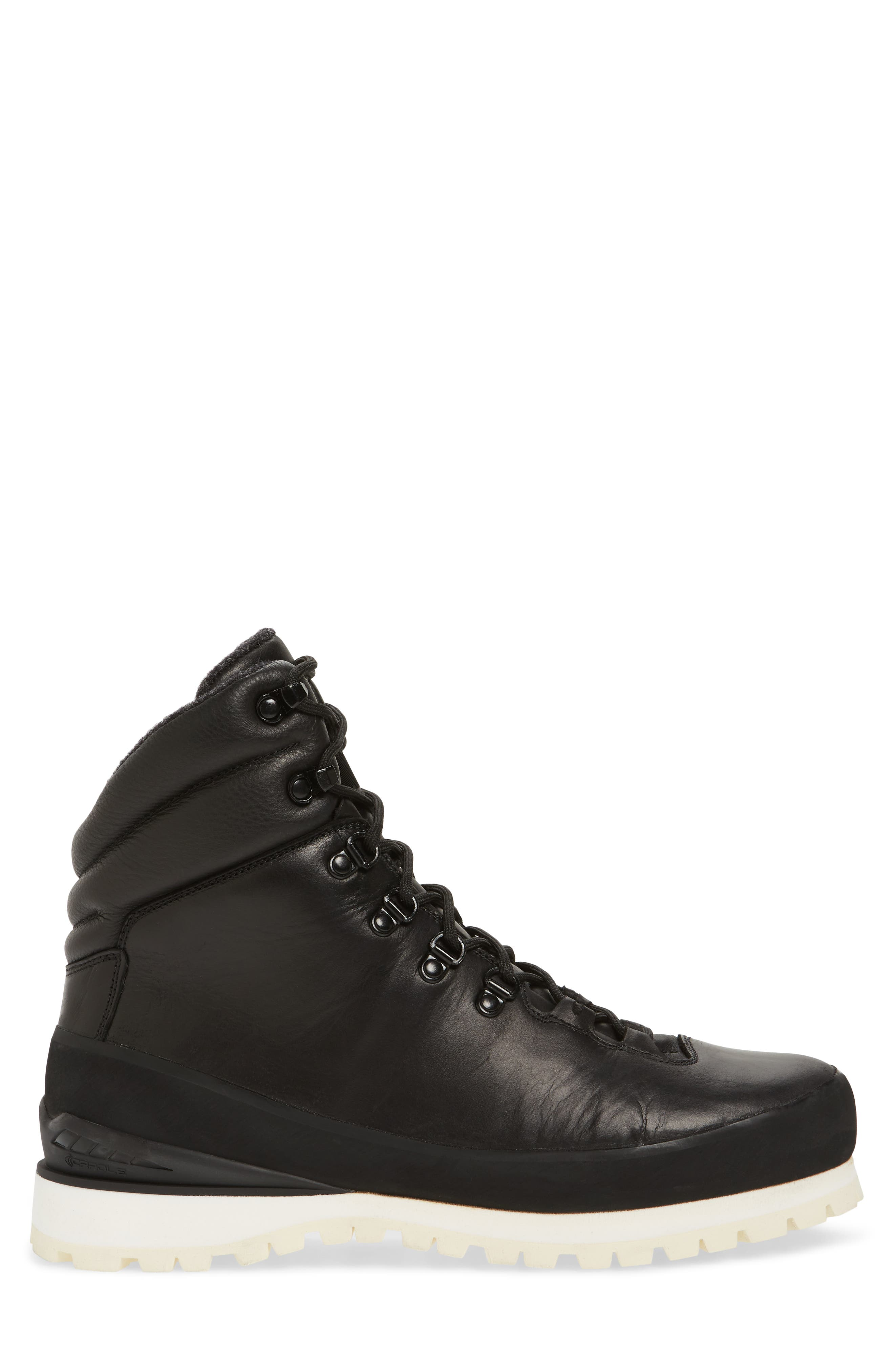 Cryos Hiker Boot,                             Alternate thumbnail 3, color,                             TNF BLACK/ TNF WHITE