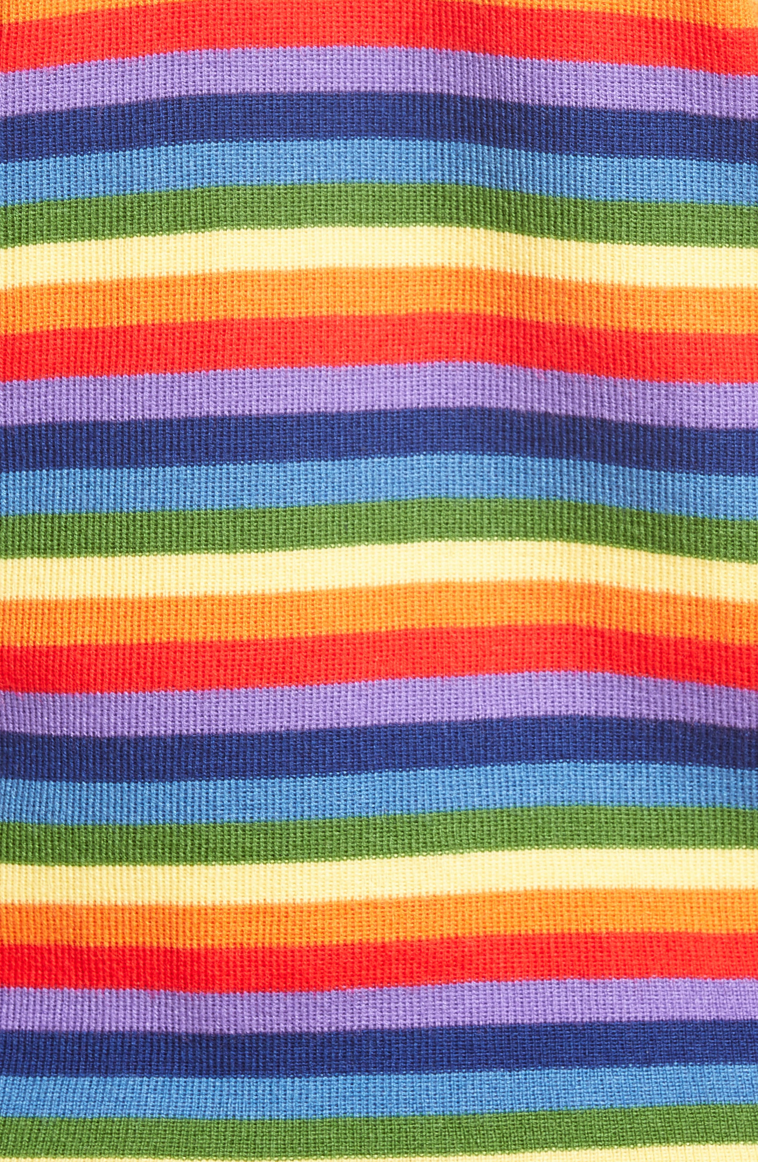 Charlie Rainbow Sweater,                             Alternate thumbnail 6, color,                             600