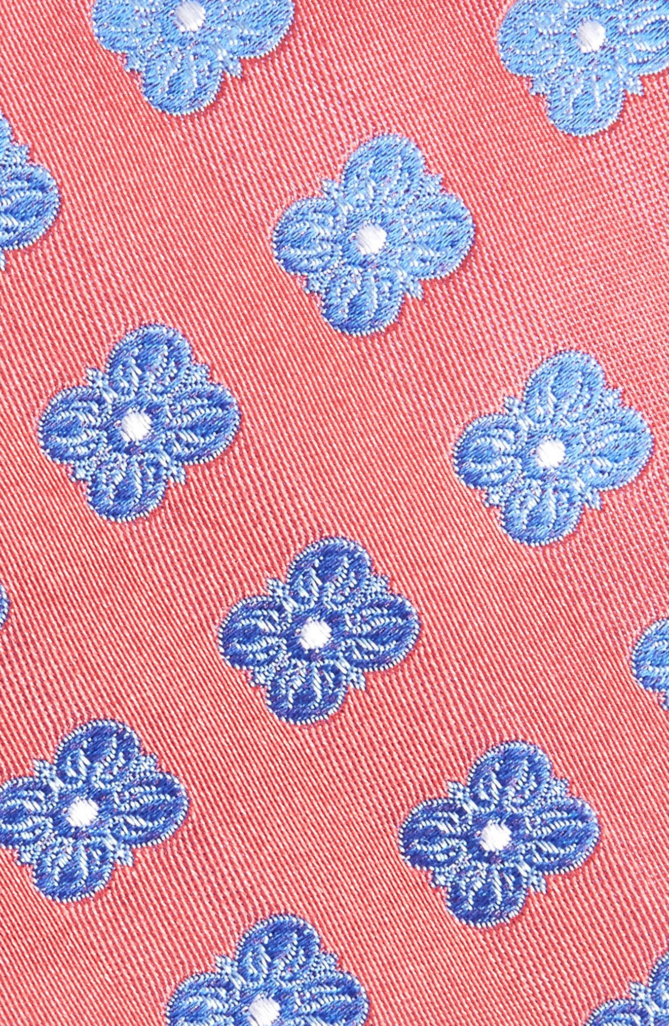 Cameron Floral Medallion Silk Tie,                             Alternate thumbnail 16, color,