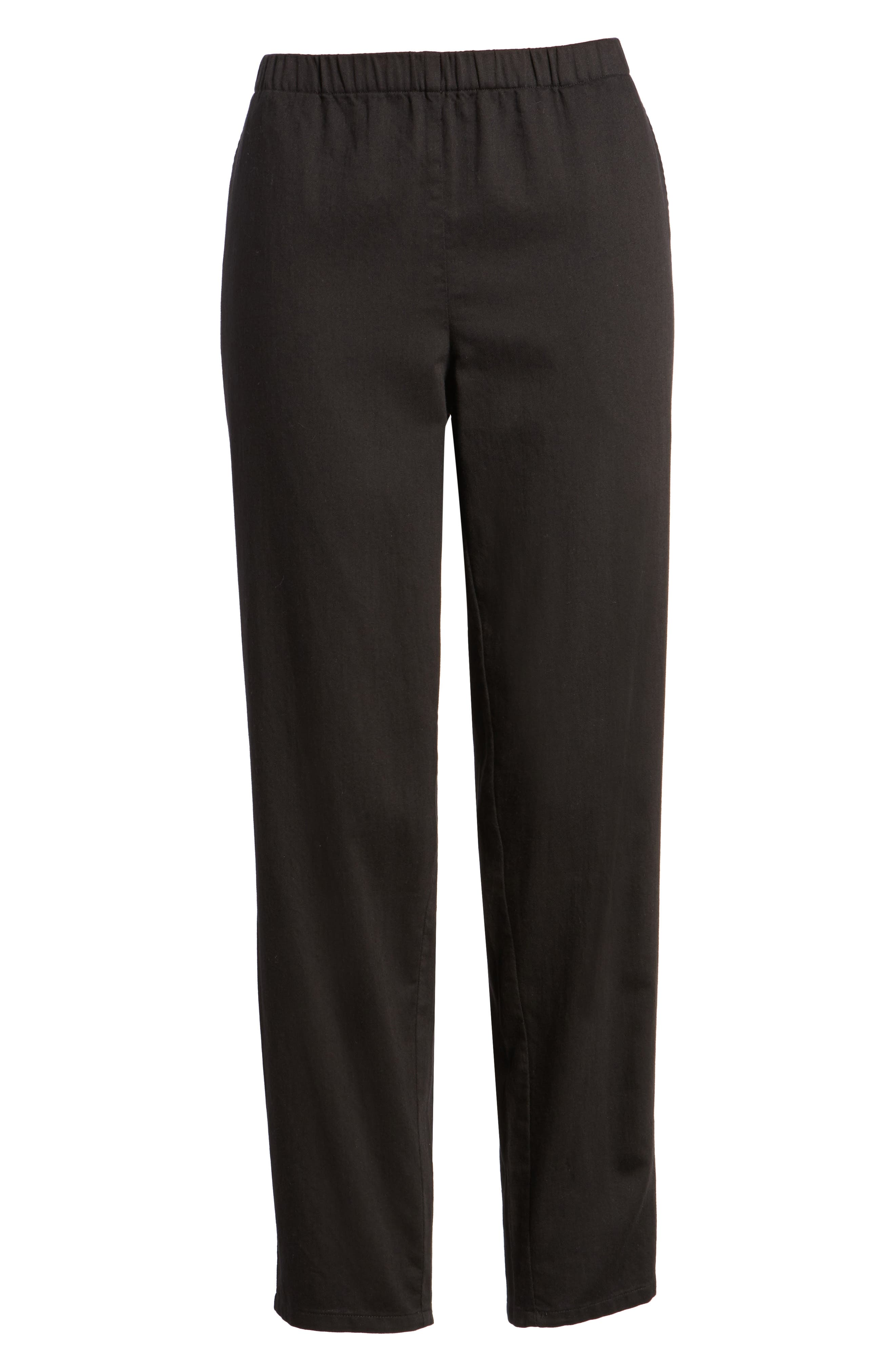 Organic Cotton Tapered Ankle Pants,                             Alternate thumbnail 22, color,