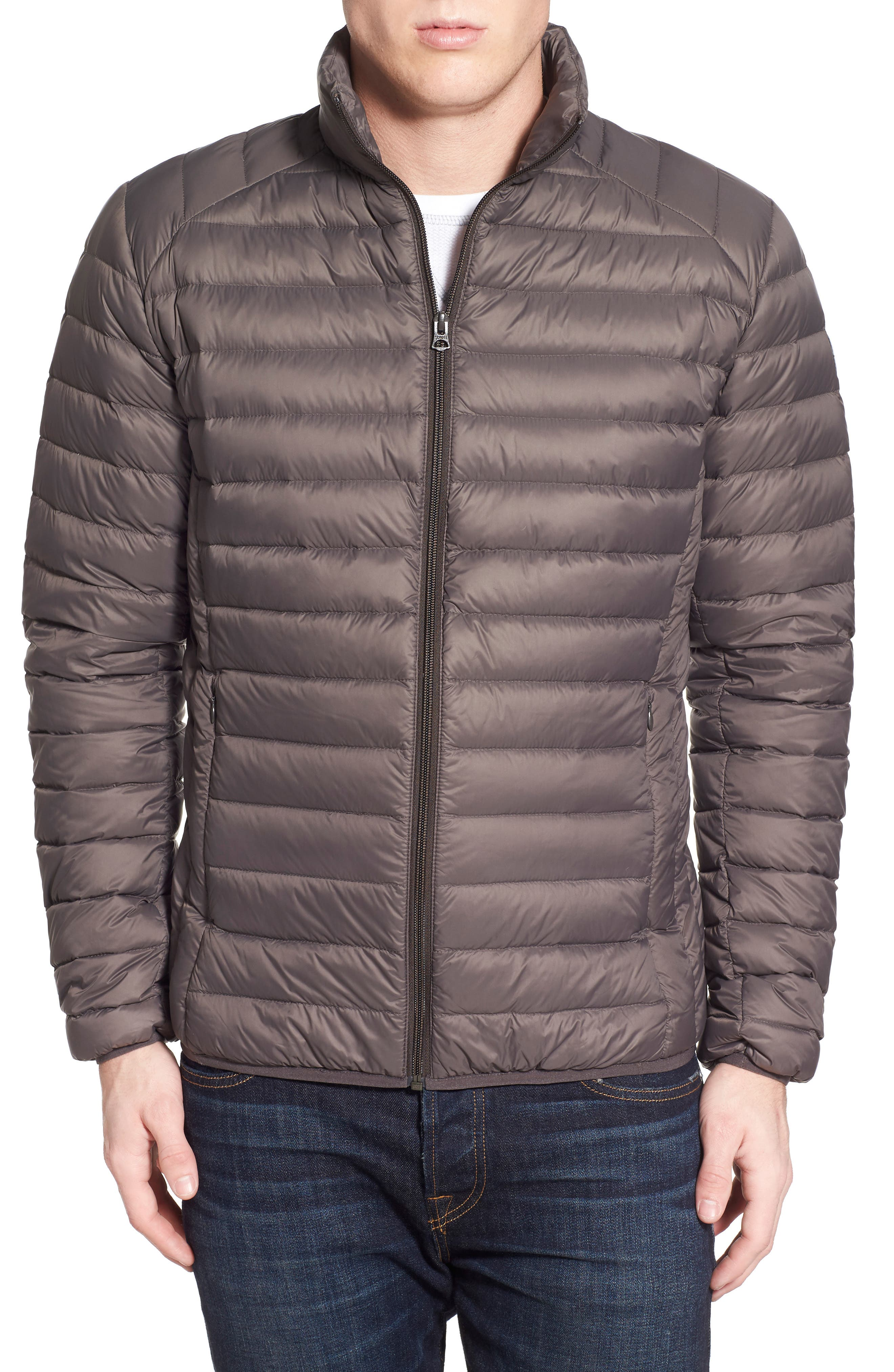 Quilted Down Jacket,                             Alternate thumbnail 11, color,