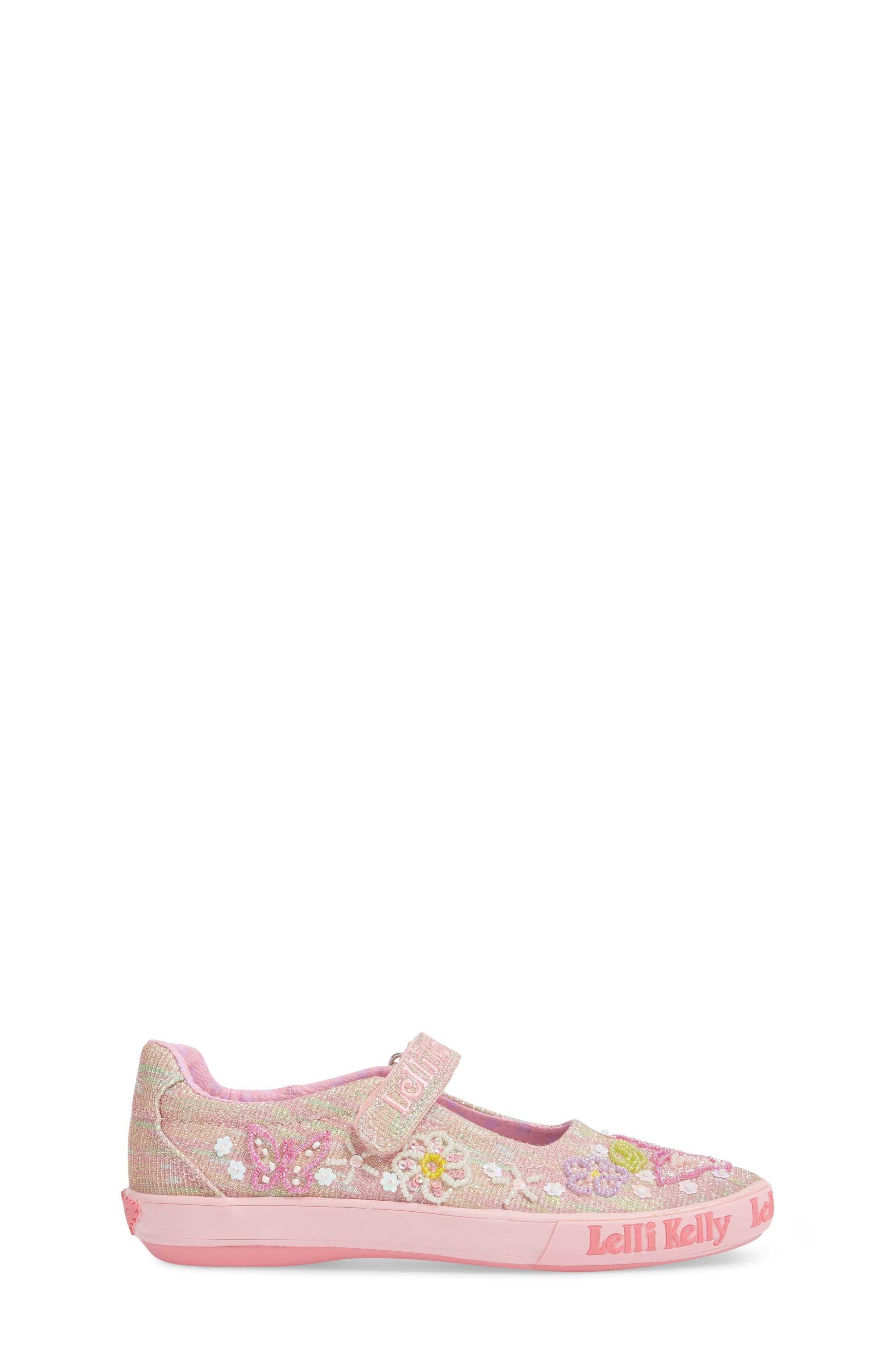 Beaded Mary Jane Sneaker,                             Alternate thumbnail 3, color,                             660