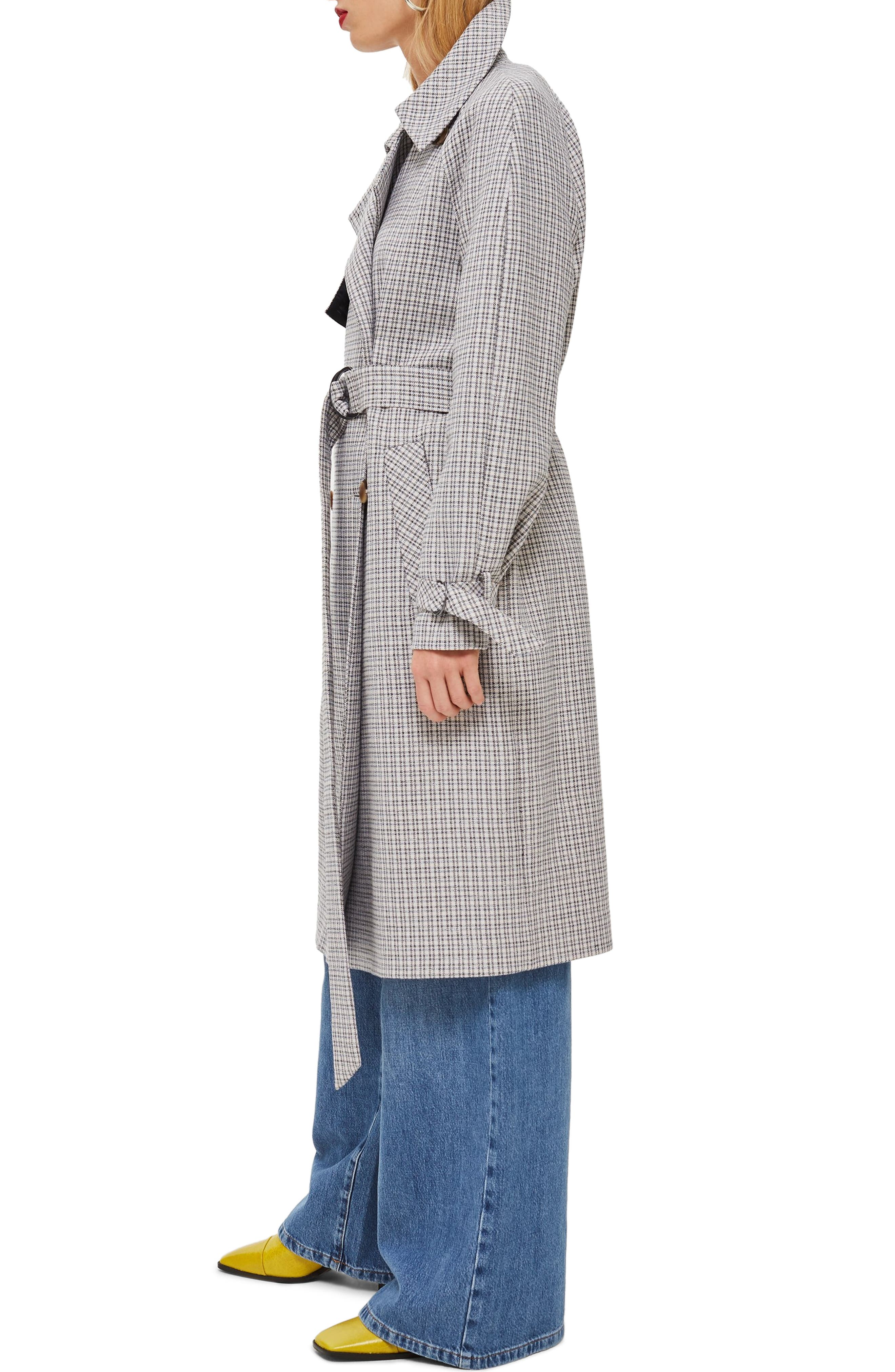 Angie Trench Coat,                             Alternate thumbnail 3, color,                             020