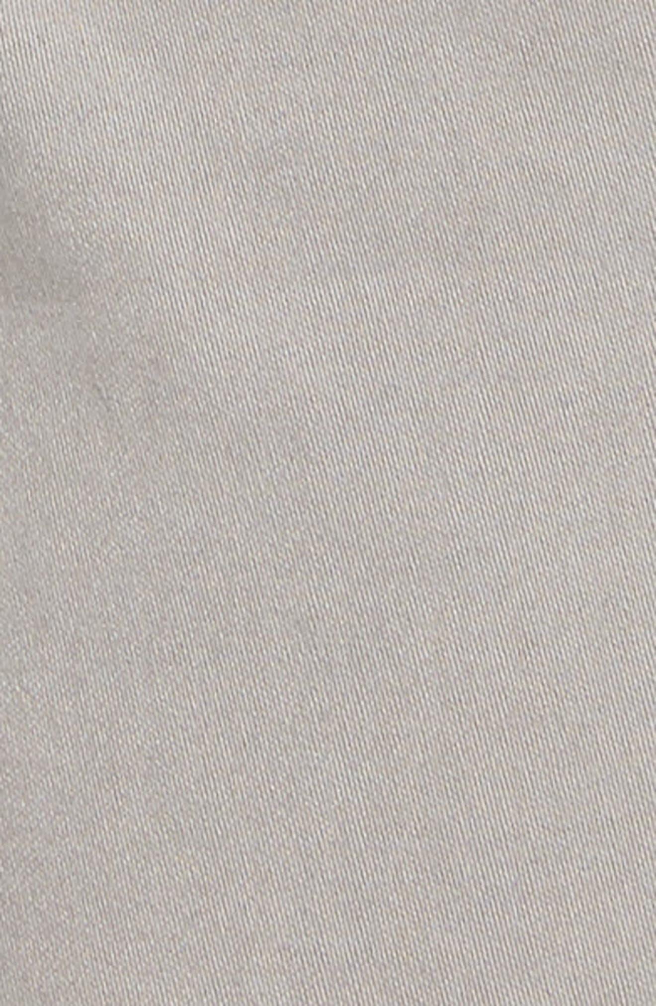 Everett SUD Slim Straight Fit Pants,                             Alternate thumbnail 5, color,                             SULFUR PLATINUM