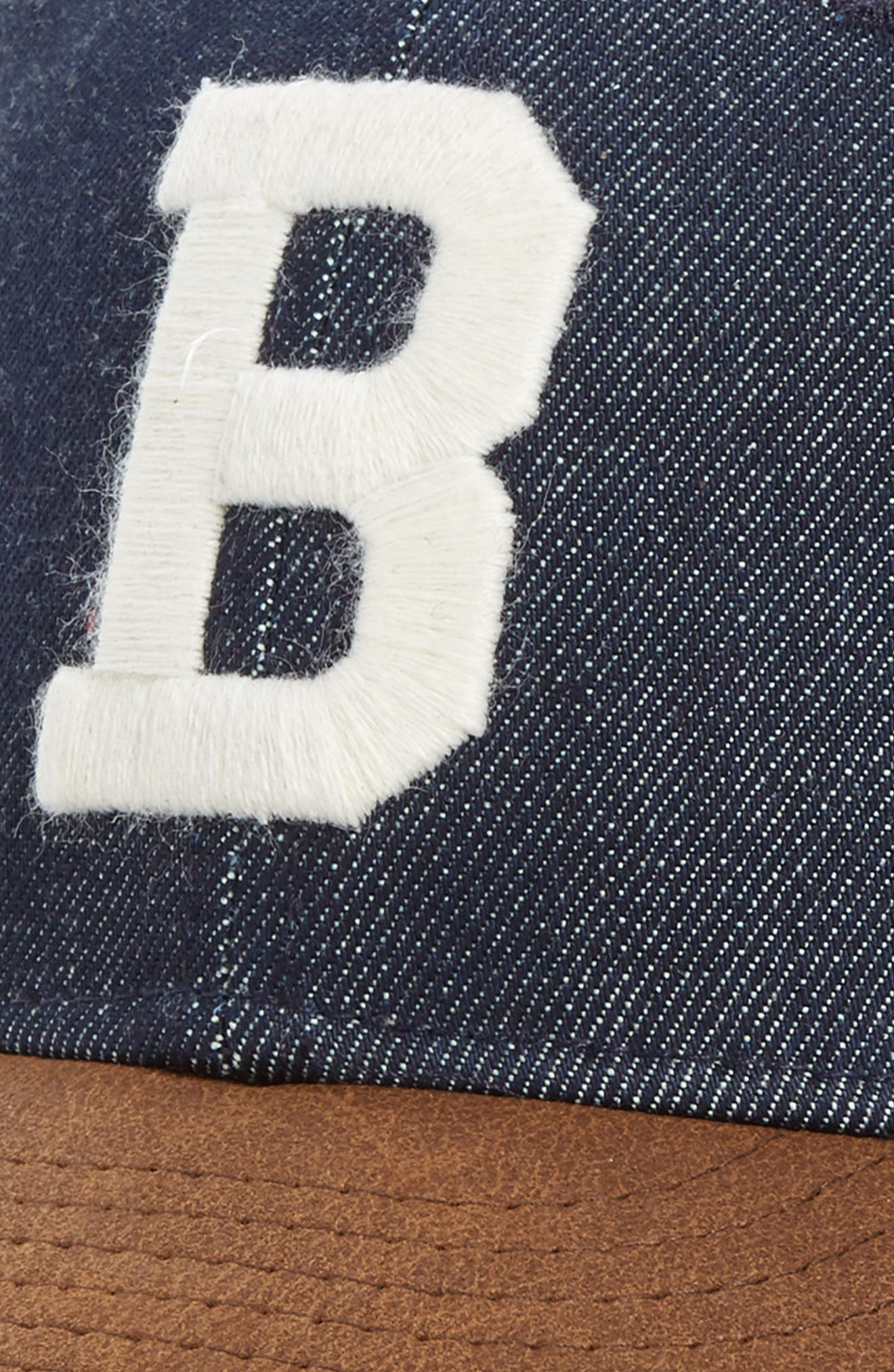 x Levi's<sup>®</sup> MLB Logo Ball Cap,                             Alternate thumbnail 3, color,                             BOSTON BRAVES