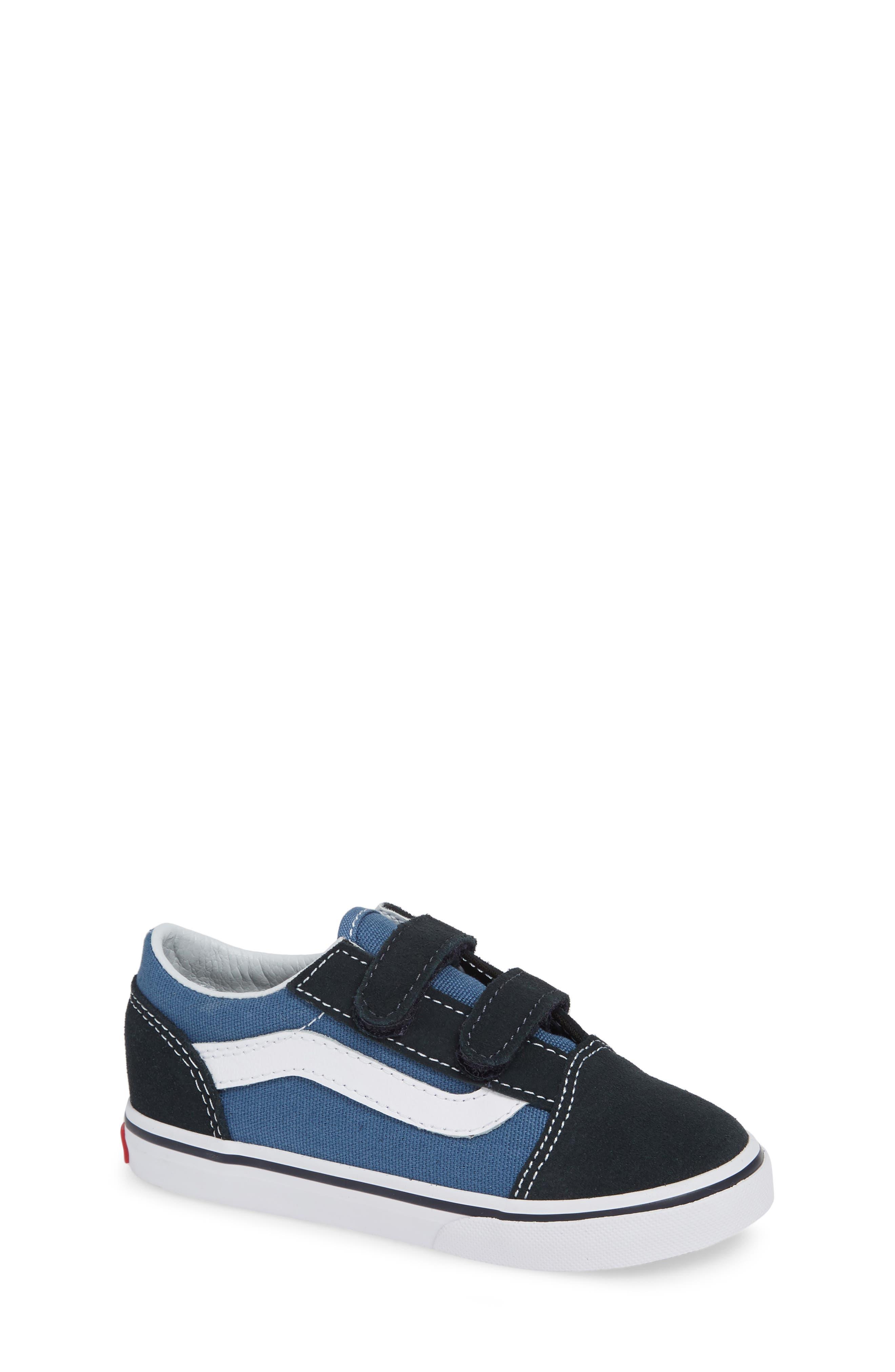 'Old Skool' Sneaker,                             Main thumbnail 1, color,                             NAVY