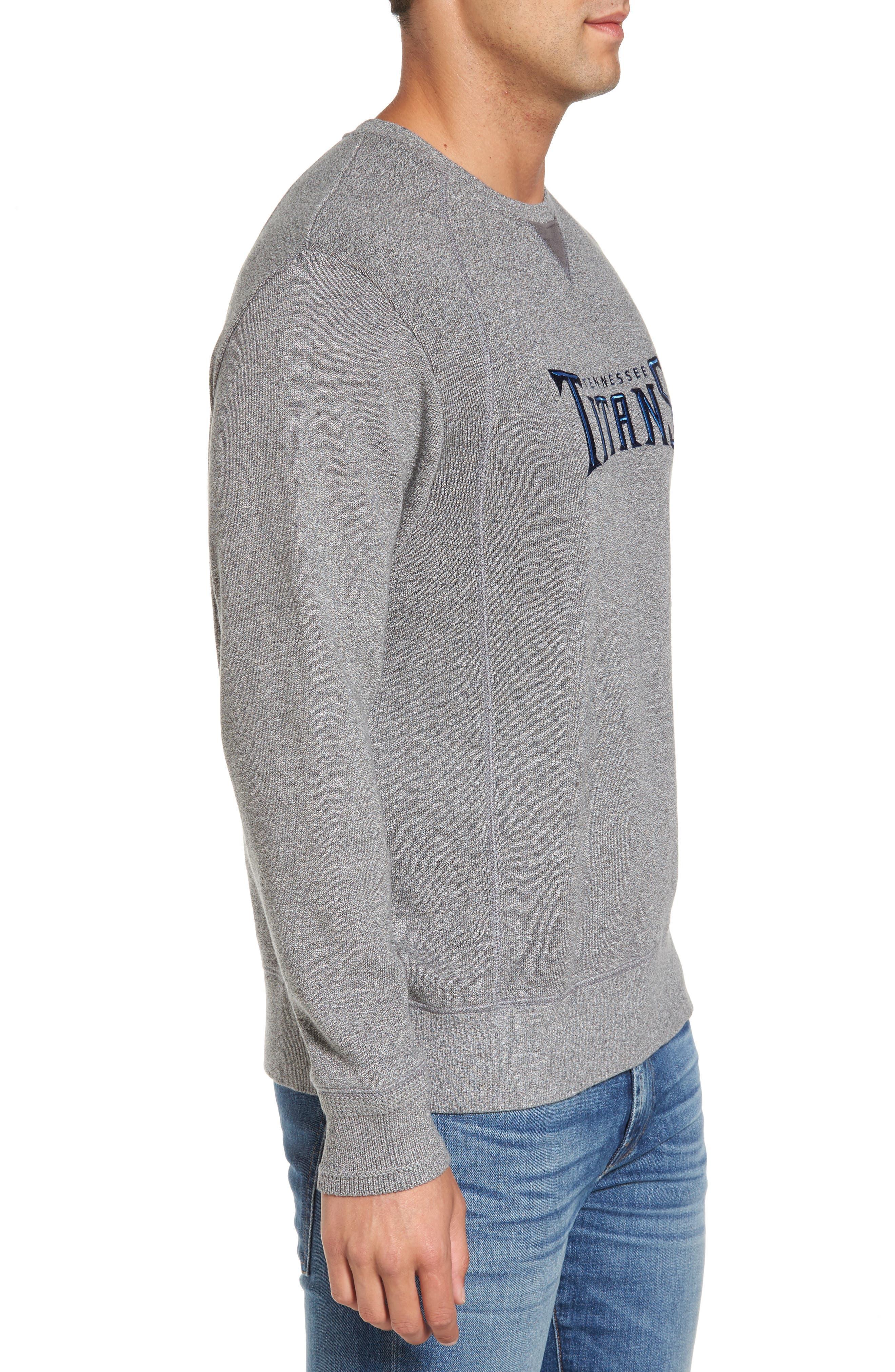 NFL Stitch of Liberty Embroidered Crewneck Sweatshirt,                             Alternate thumbnail 91, color,